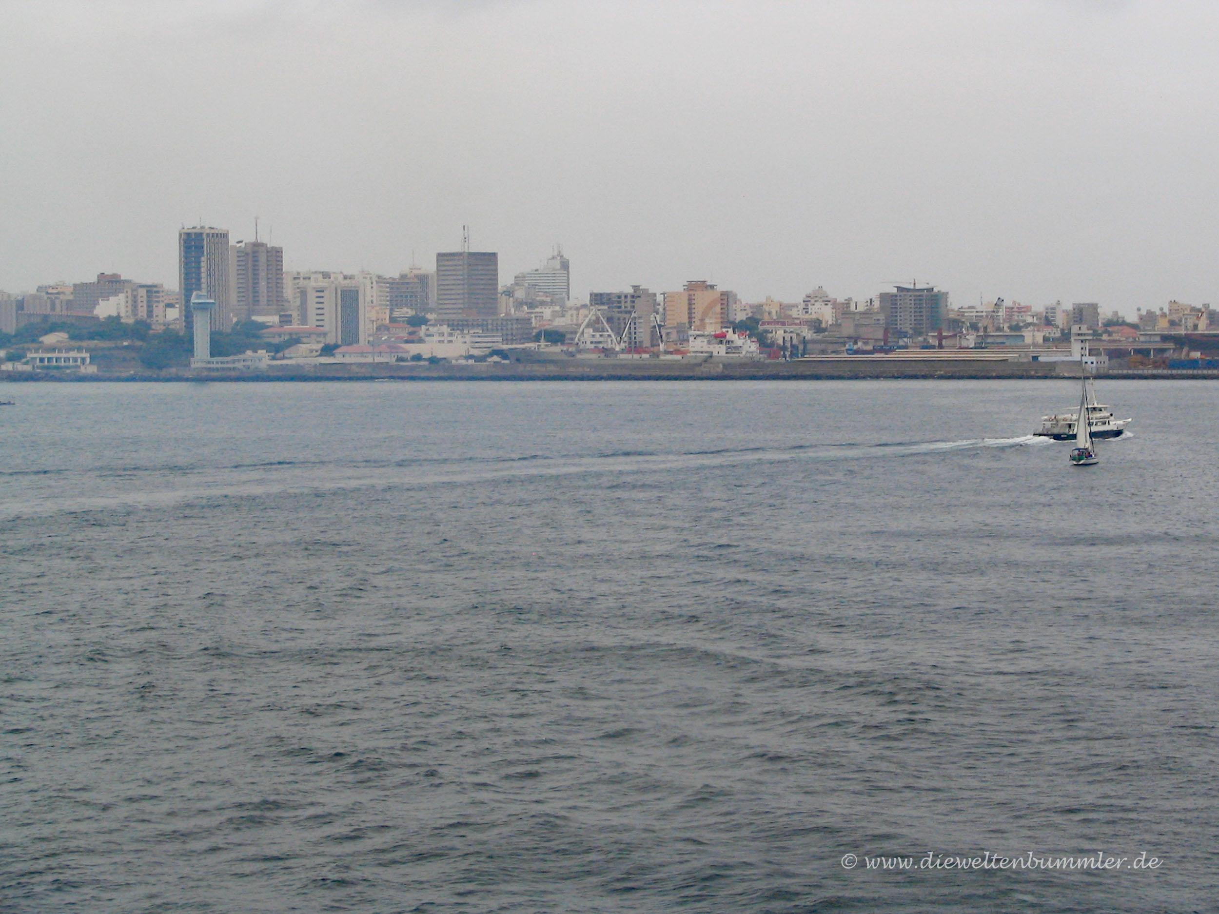 Ankunft in Senegal