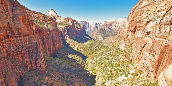 Ausblick im Zion Nationalpark