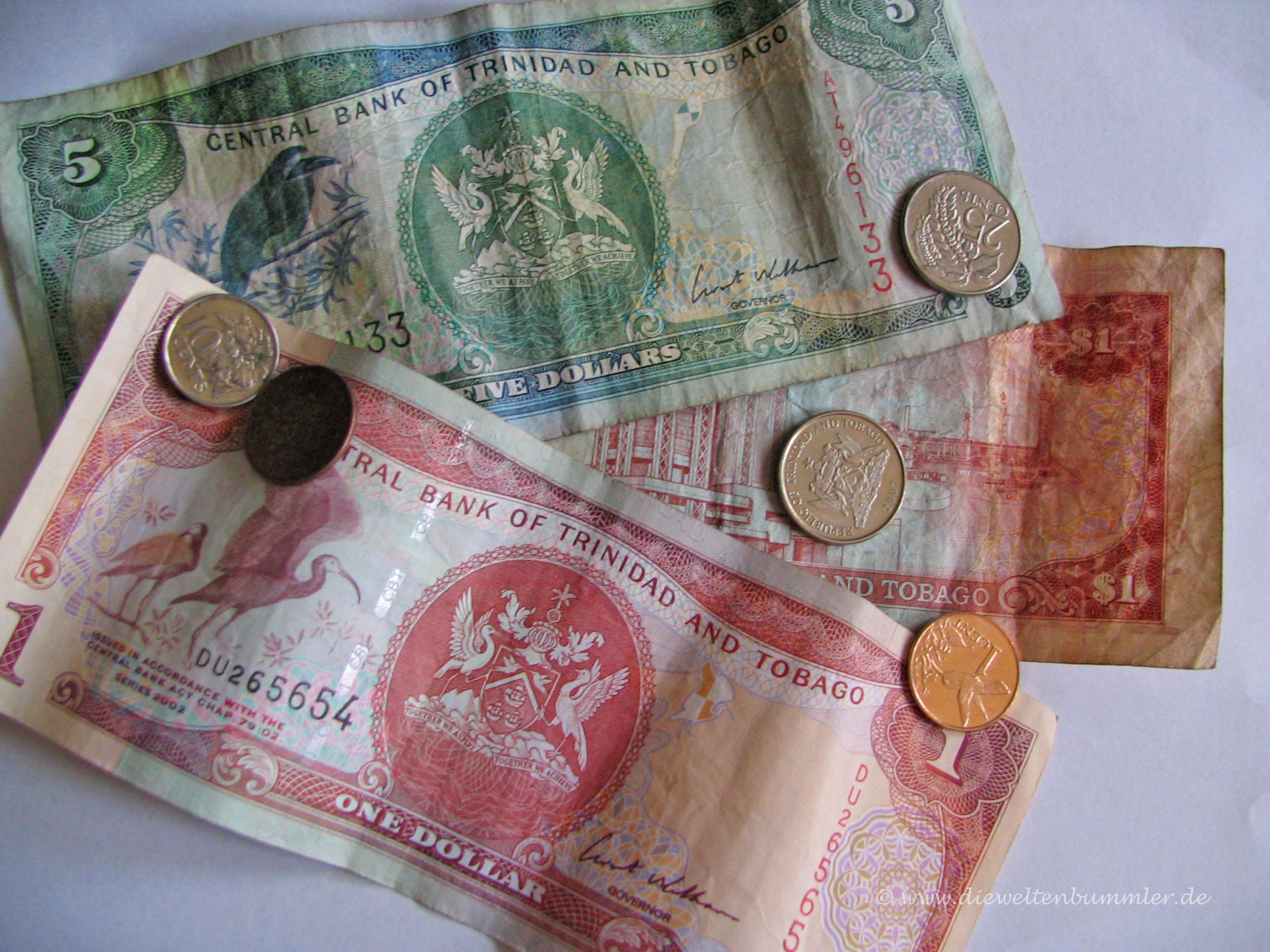Banknoten von Trinidad und Tobago