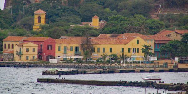 Die Insel ist Weltkulturerbe