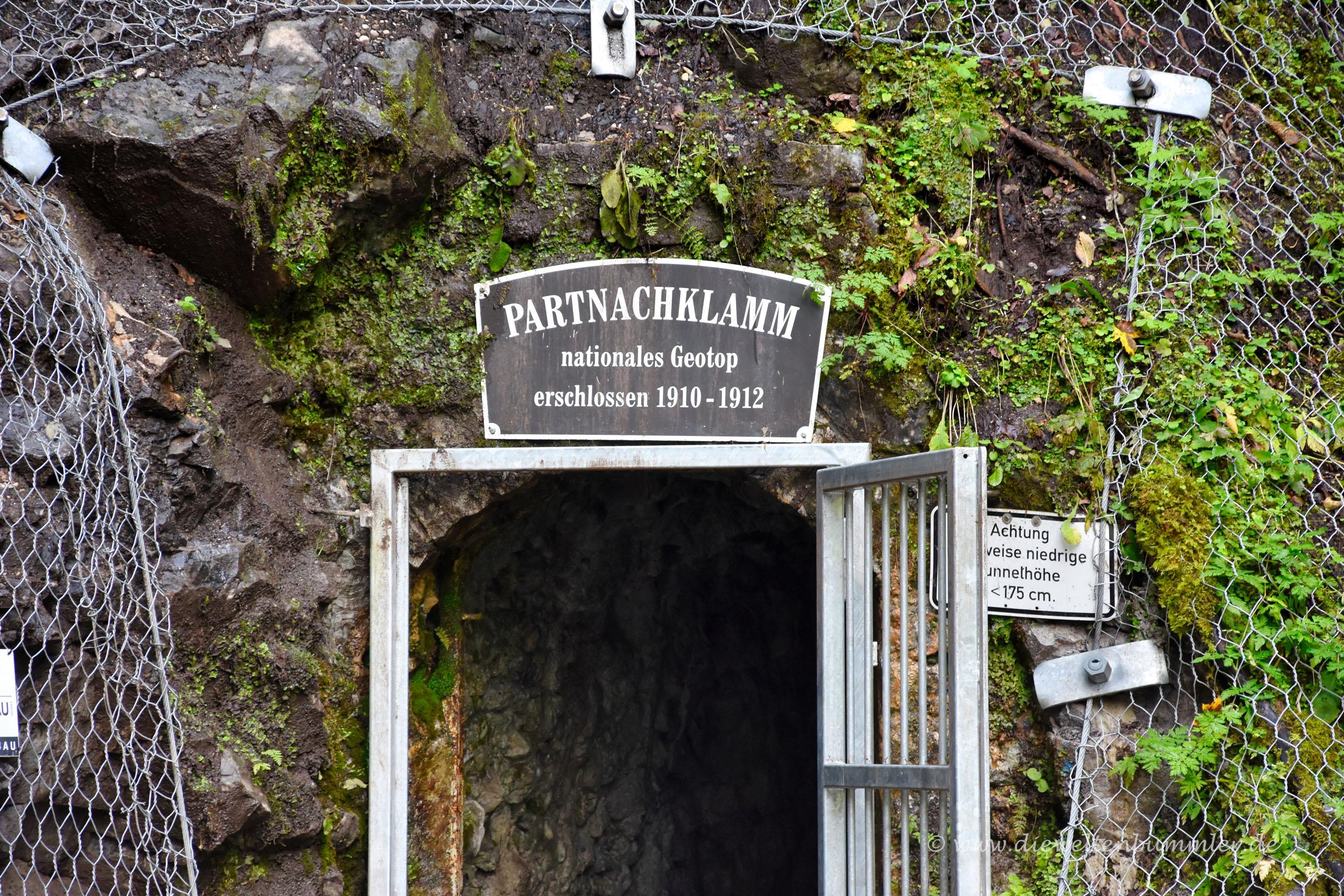 Eingang zur Klamm