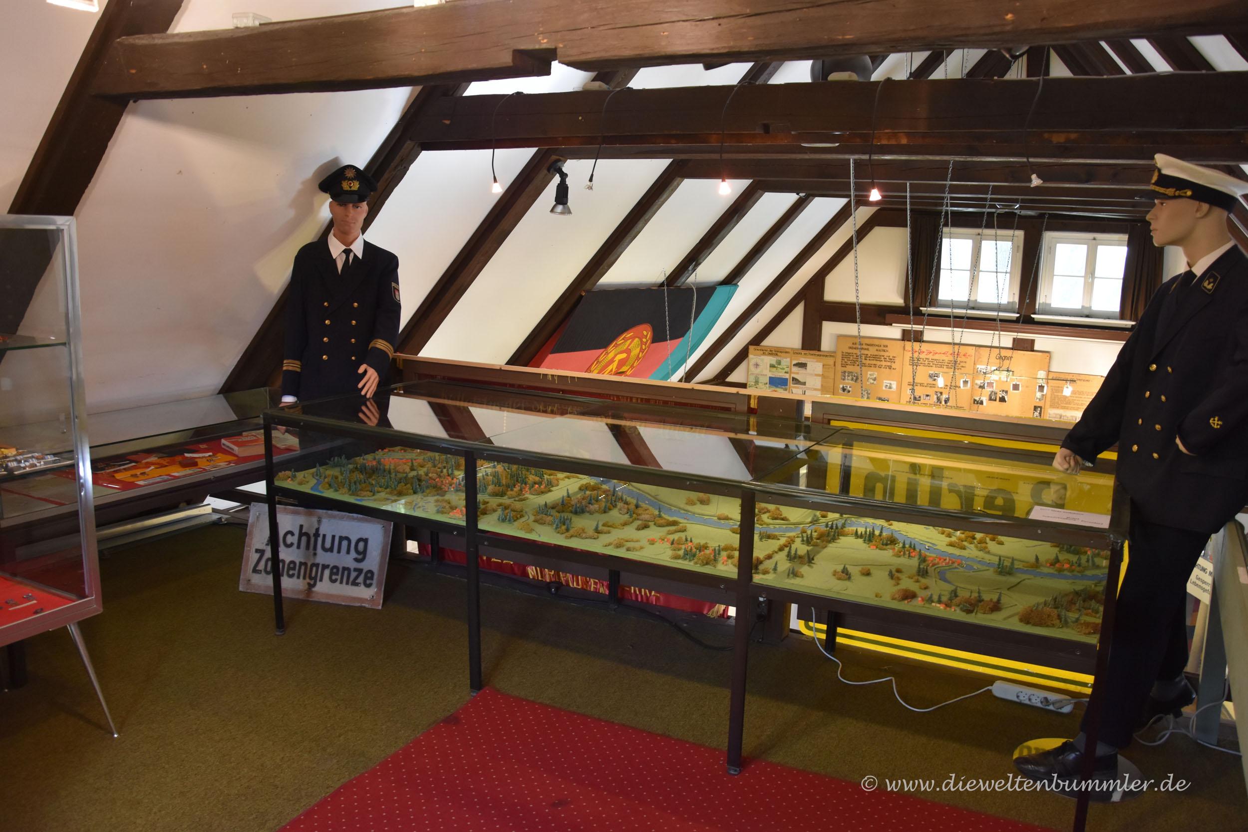 Im Inneren des Museums
