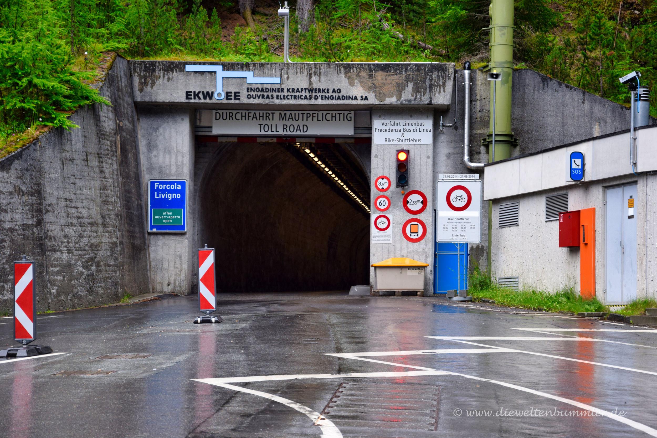 Munt la Schera-Tunnel