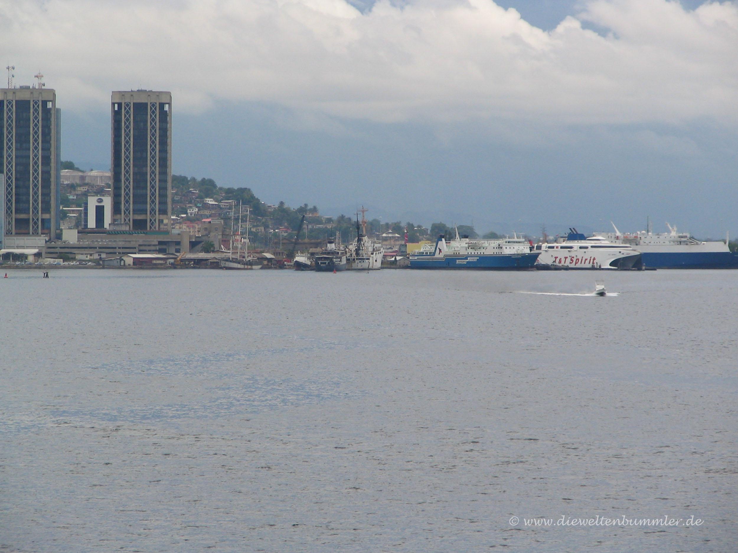 Teile des Hafens