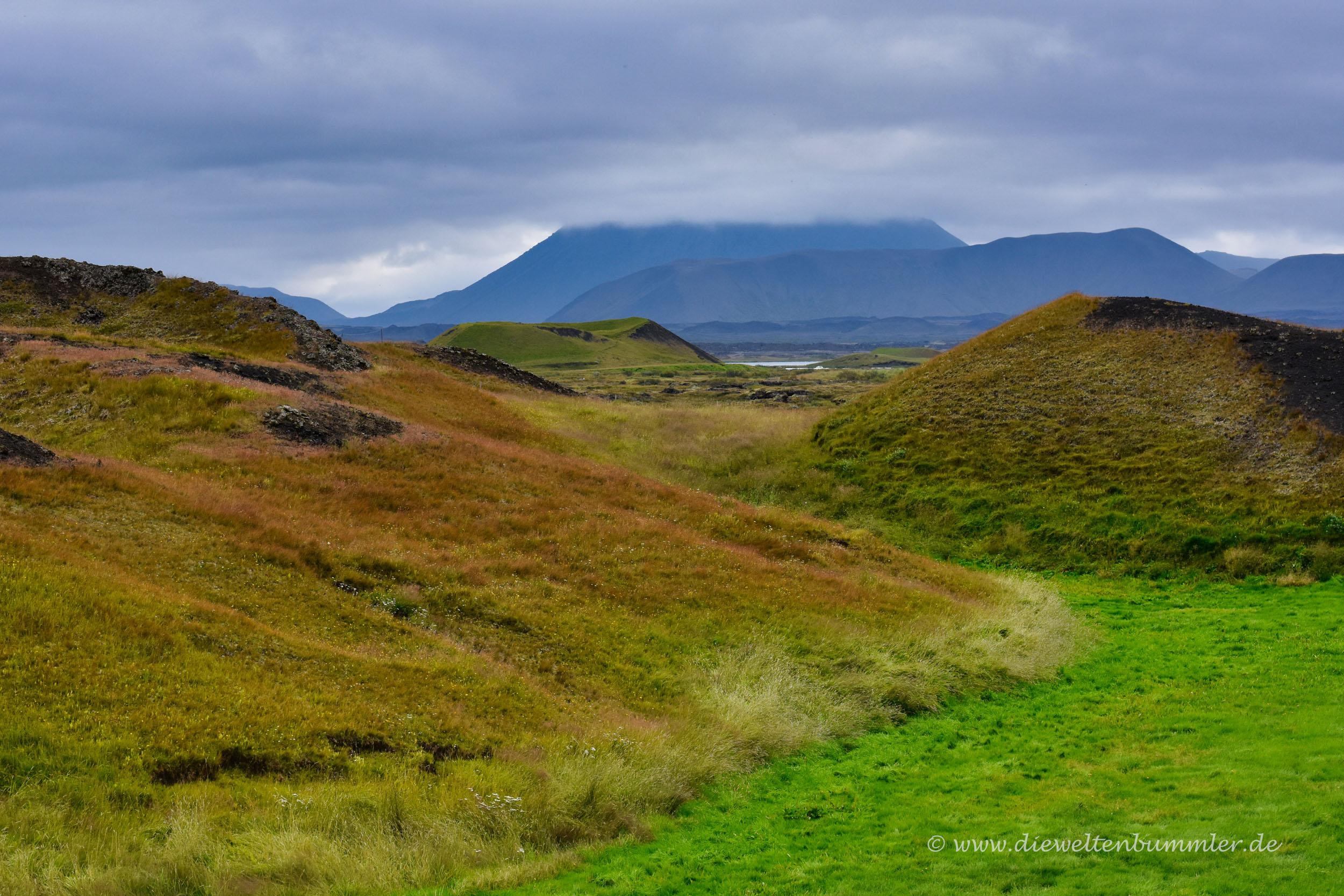 Vulkanlandschaft auf Island
