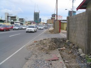 Wrightson Road in Port of Spain