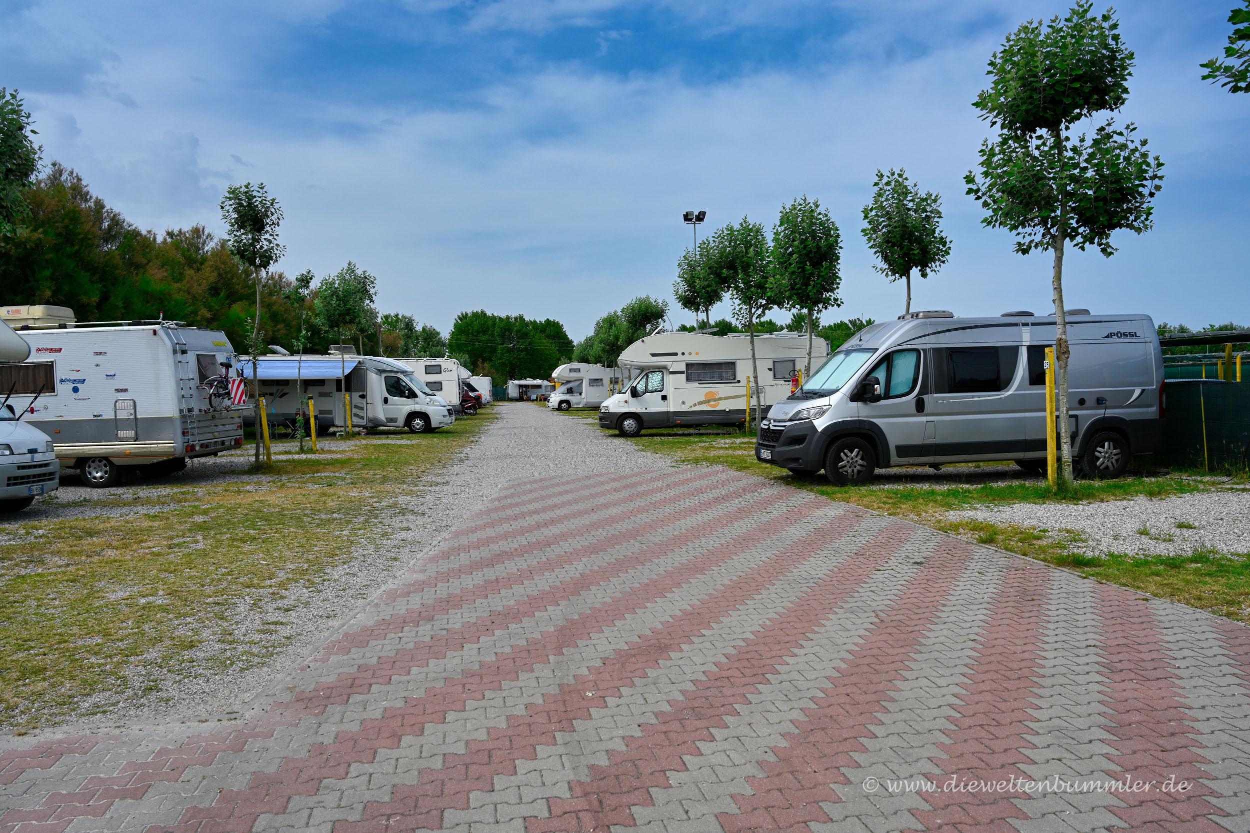 Wohnmobilstellplatz Chioggia