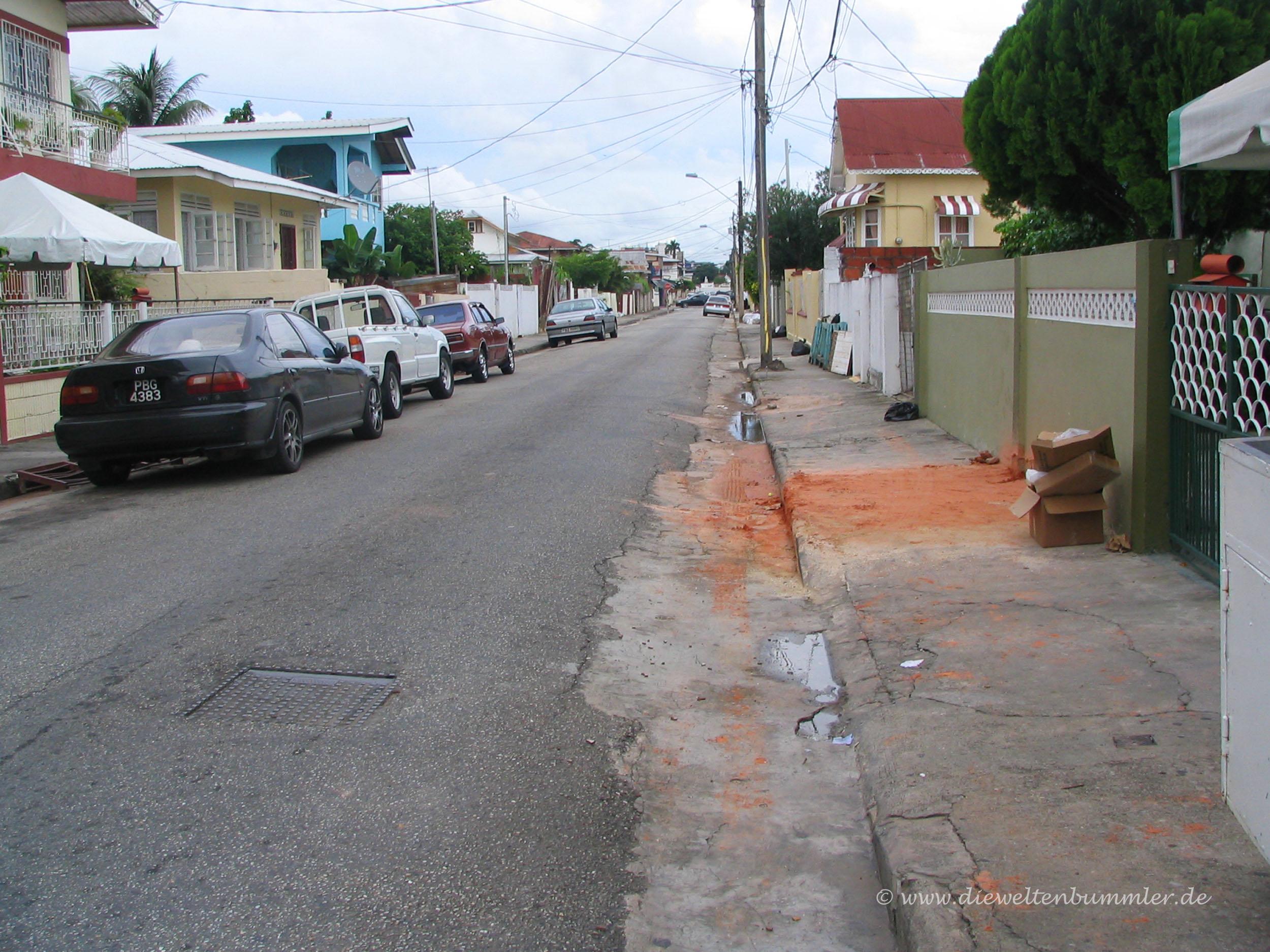 Wohnviertel in Port-of-Spain