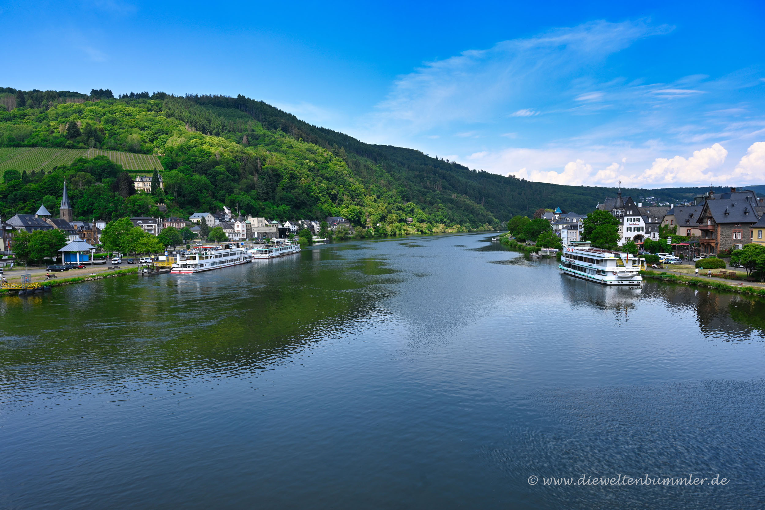 Mosel bei Traben-Trarbach
