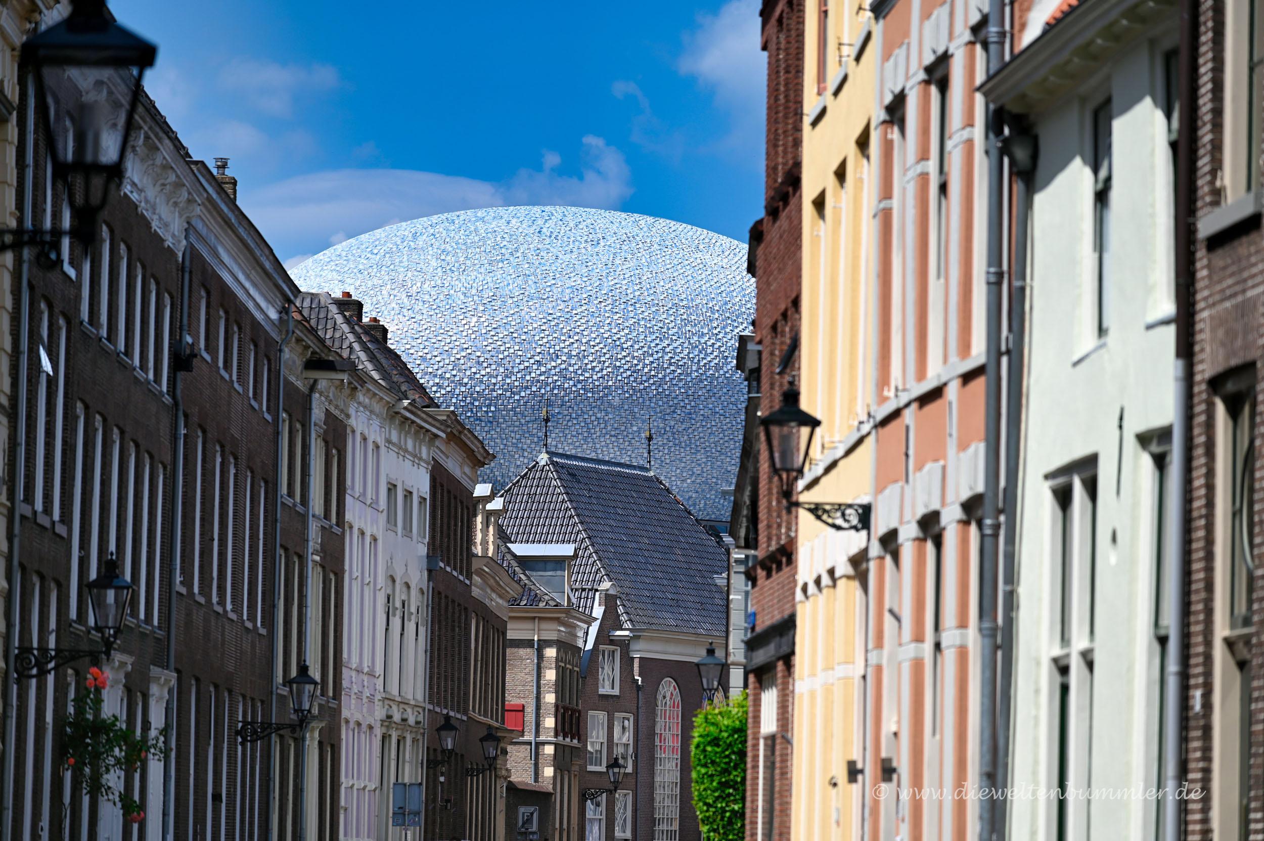 Sonderbares Dach in Zwolle