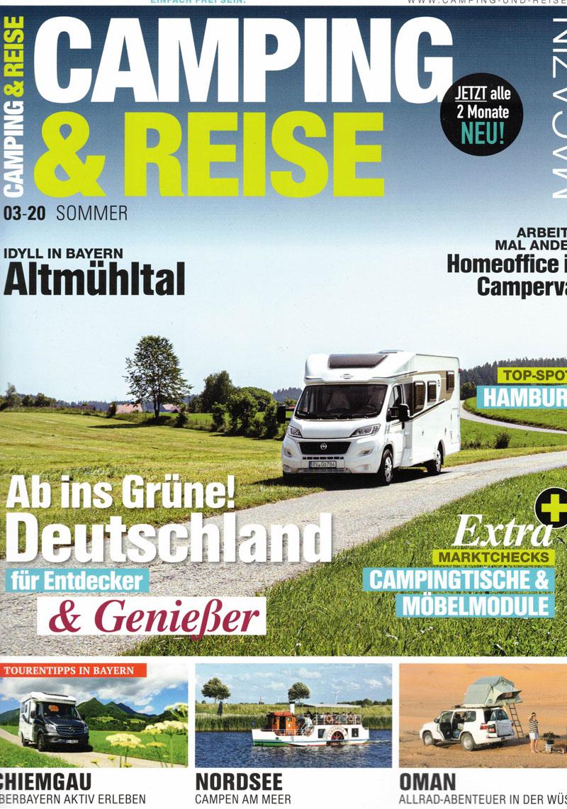 Titel Camping und Reise Ausgabe 3-2020