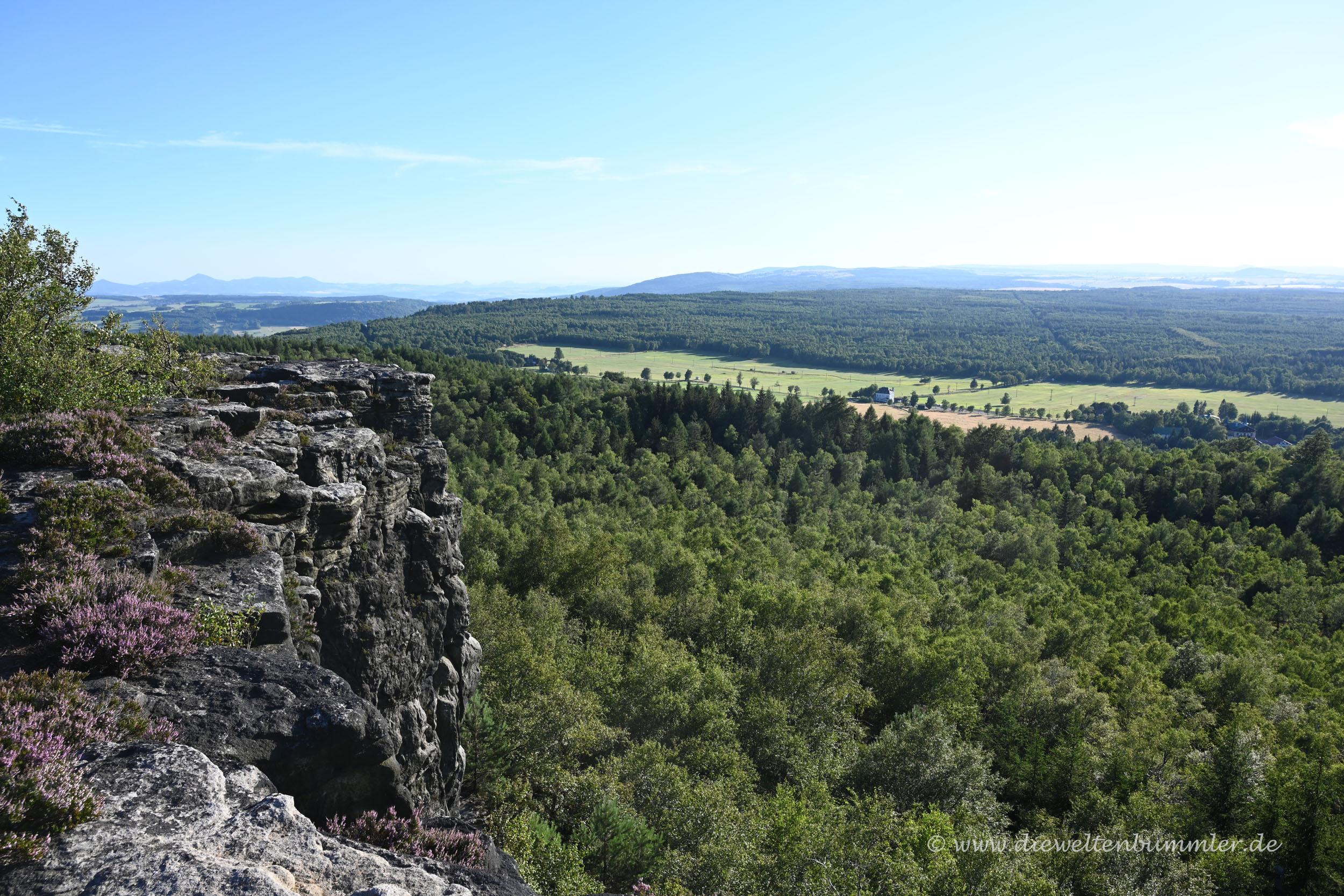 Blick über Tschechien