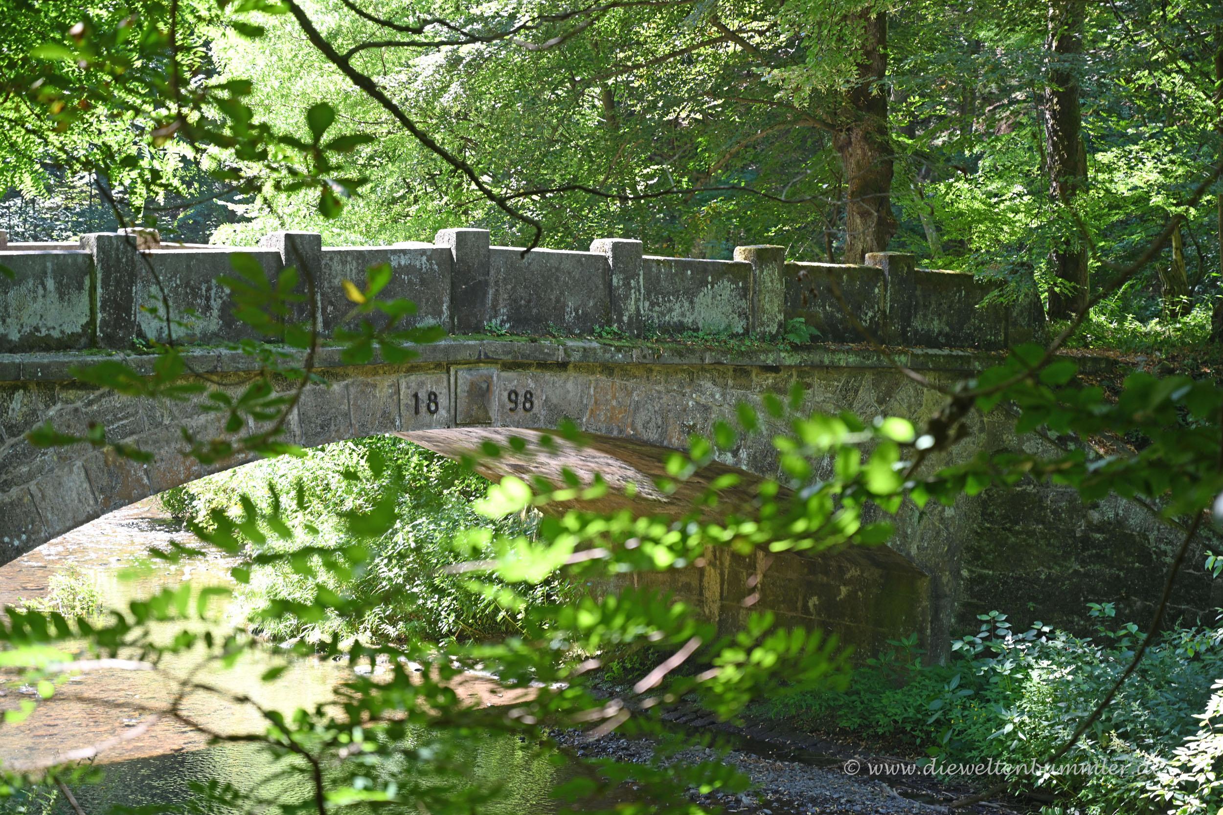 Brücke im Polenztal