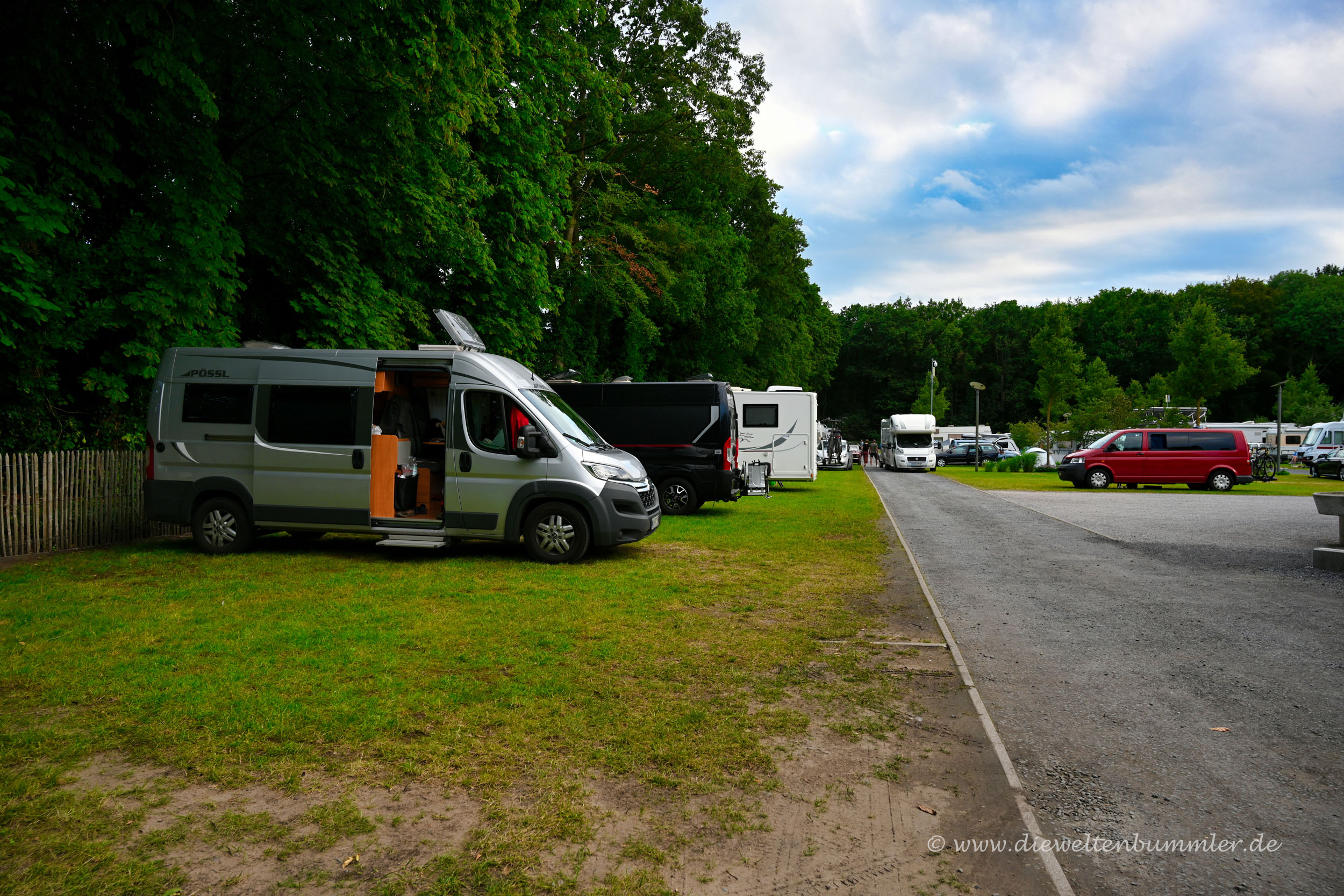 Campingplatz in Brügge