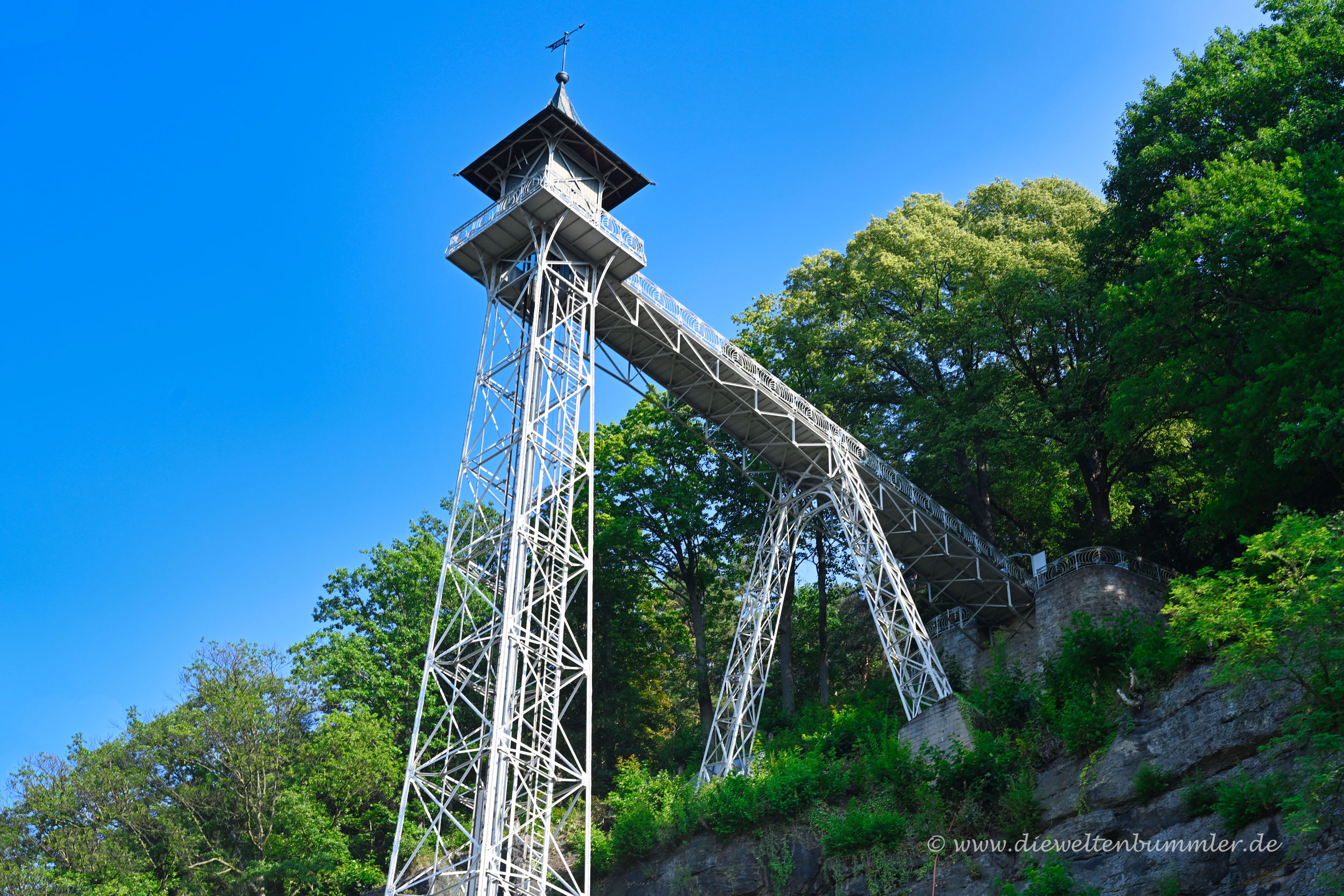 Fahrstuhl in Bad Schandau