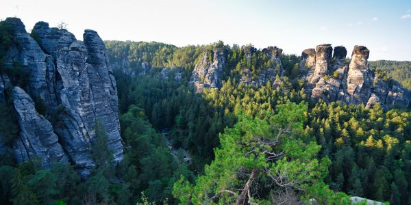 Felsen im Basteigebiet