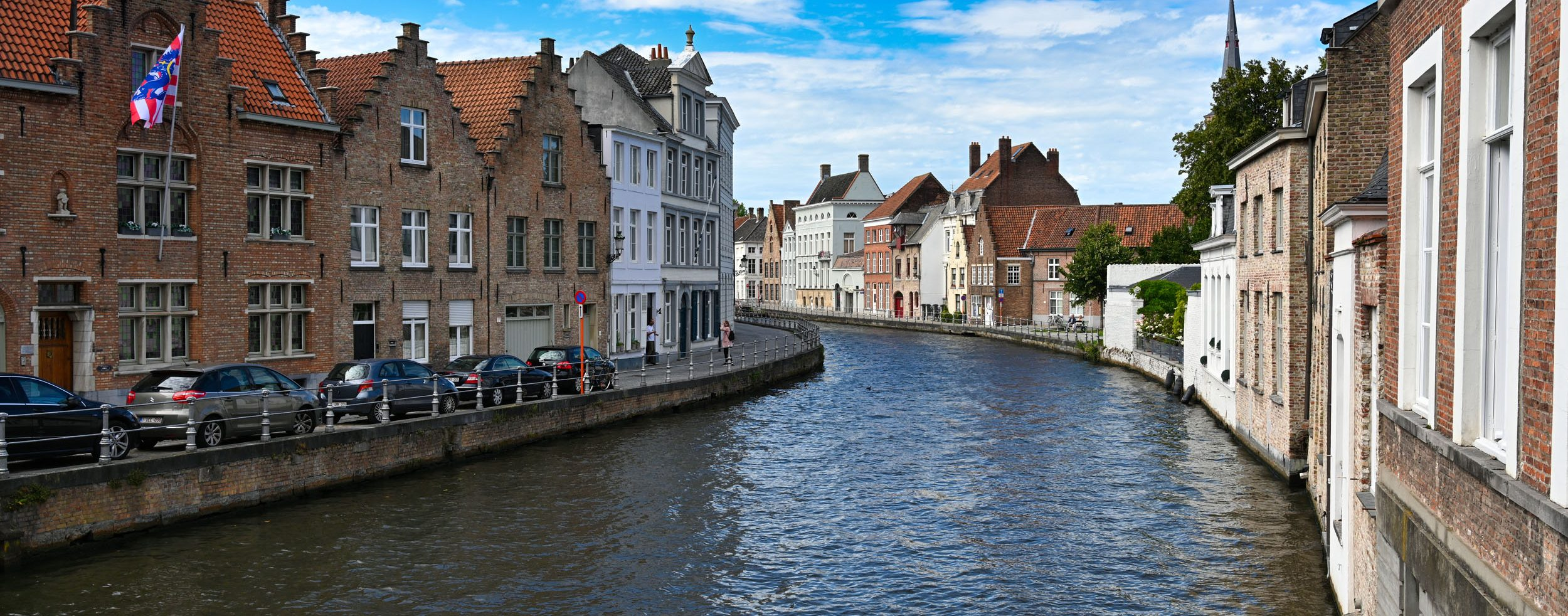 Gracht in Brügge