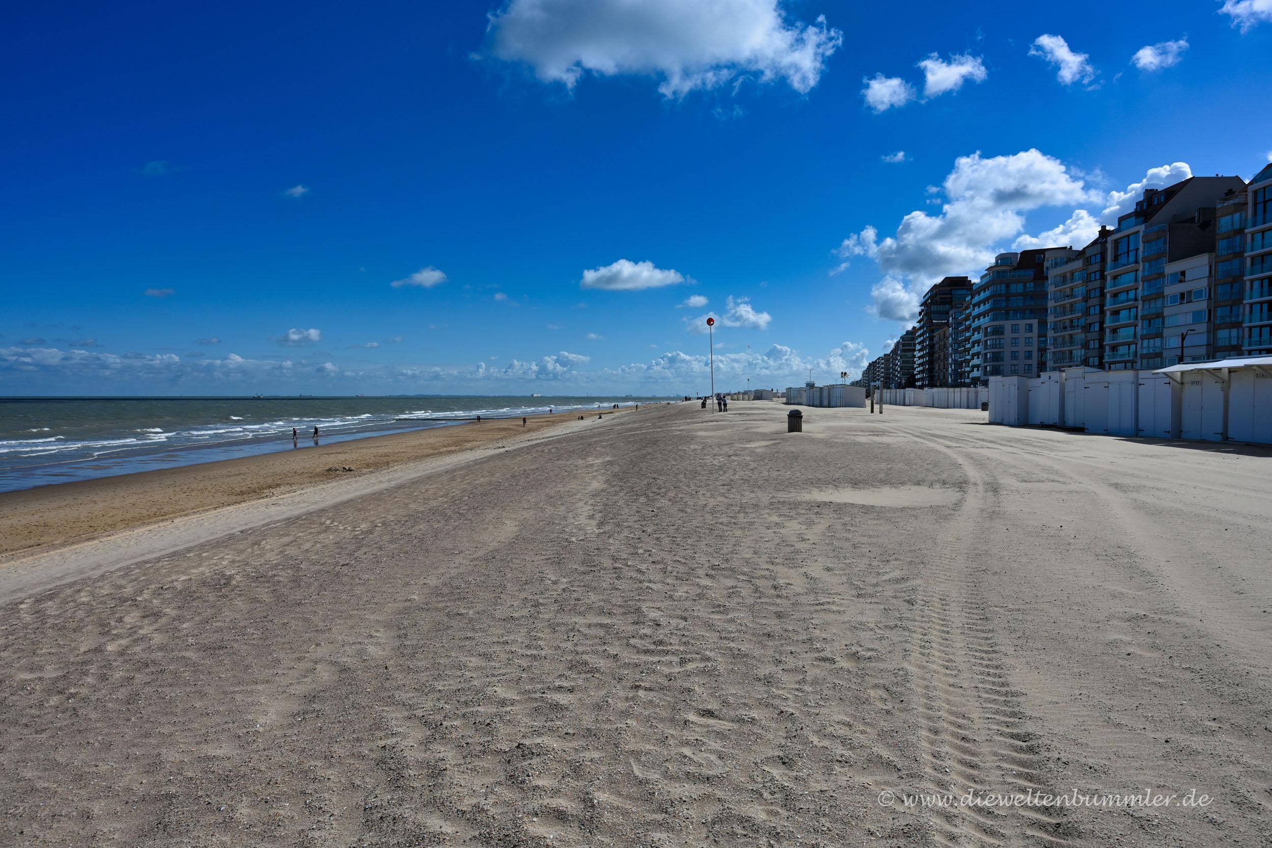 Küste in Belgien