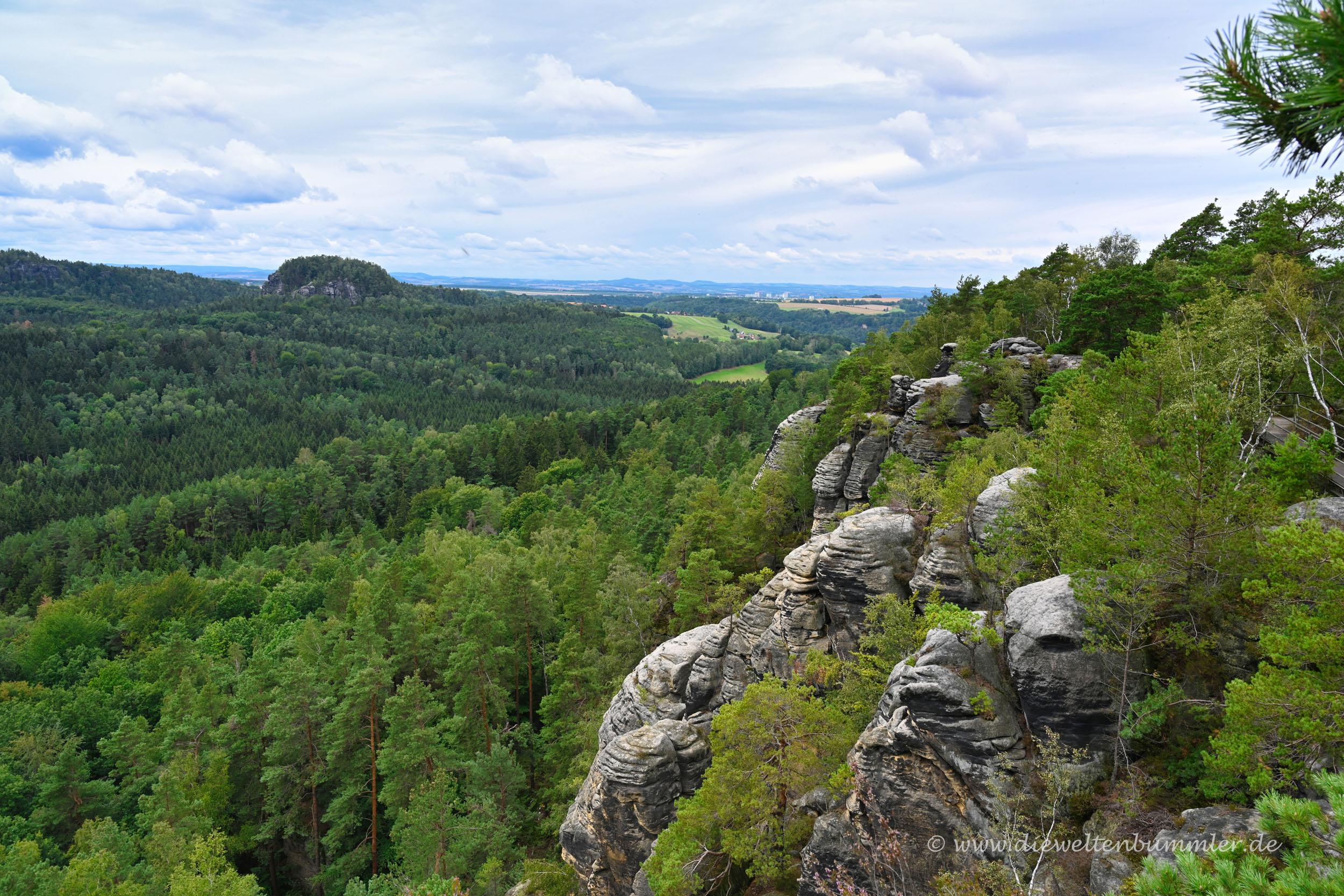 Landschaft am Rauenstein