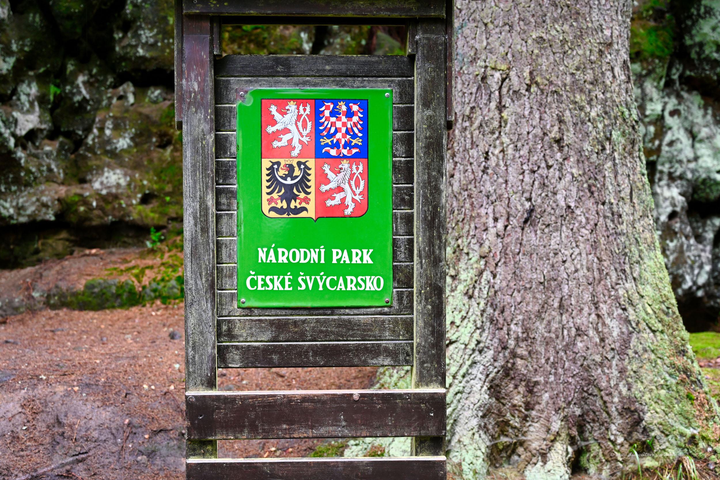 Nationalpark auf tschechischer Seite