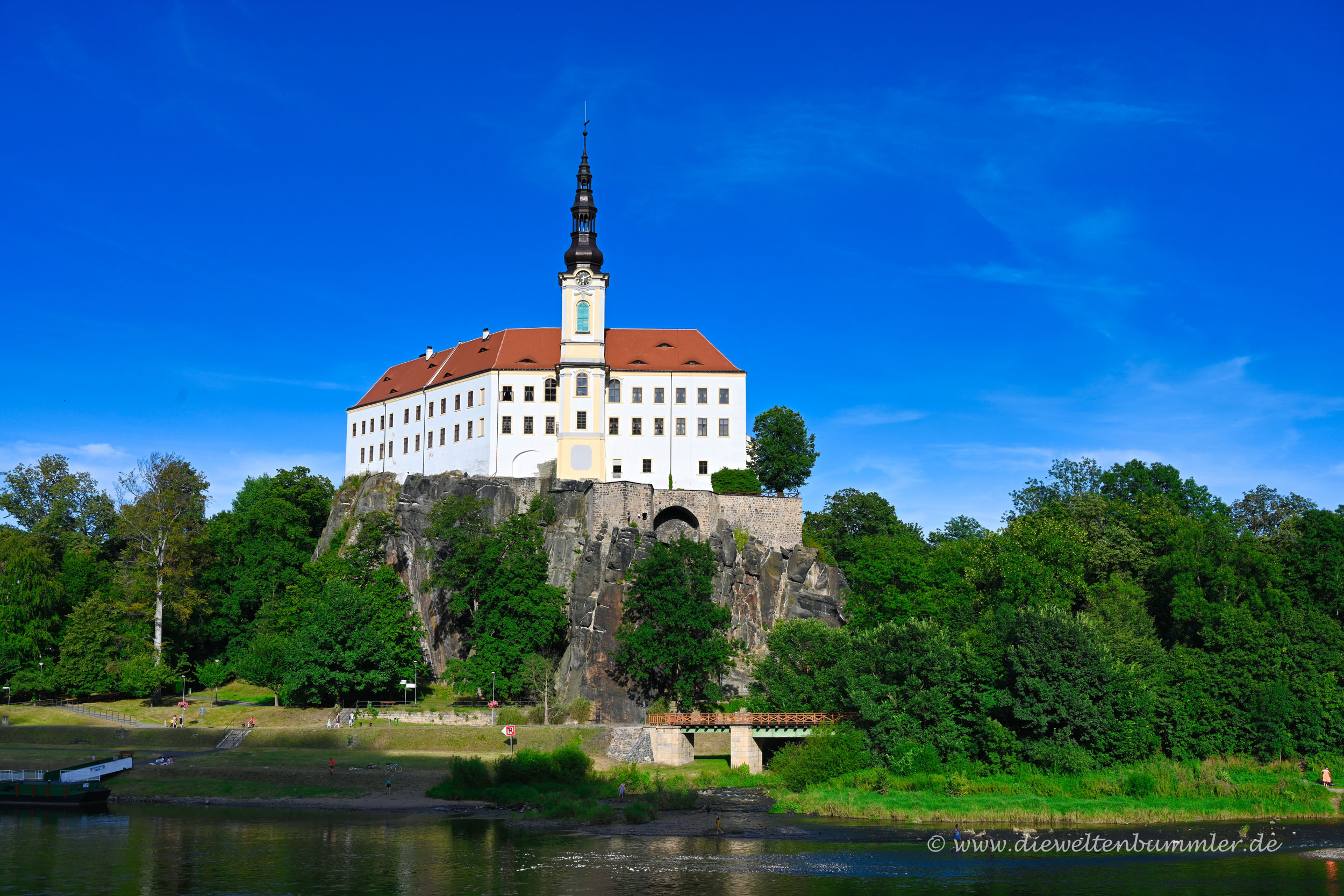 Schloss in Decin