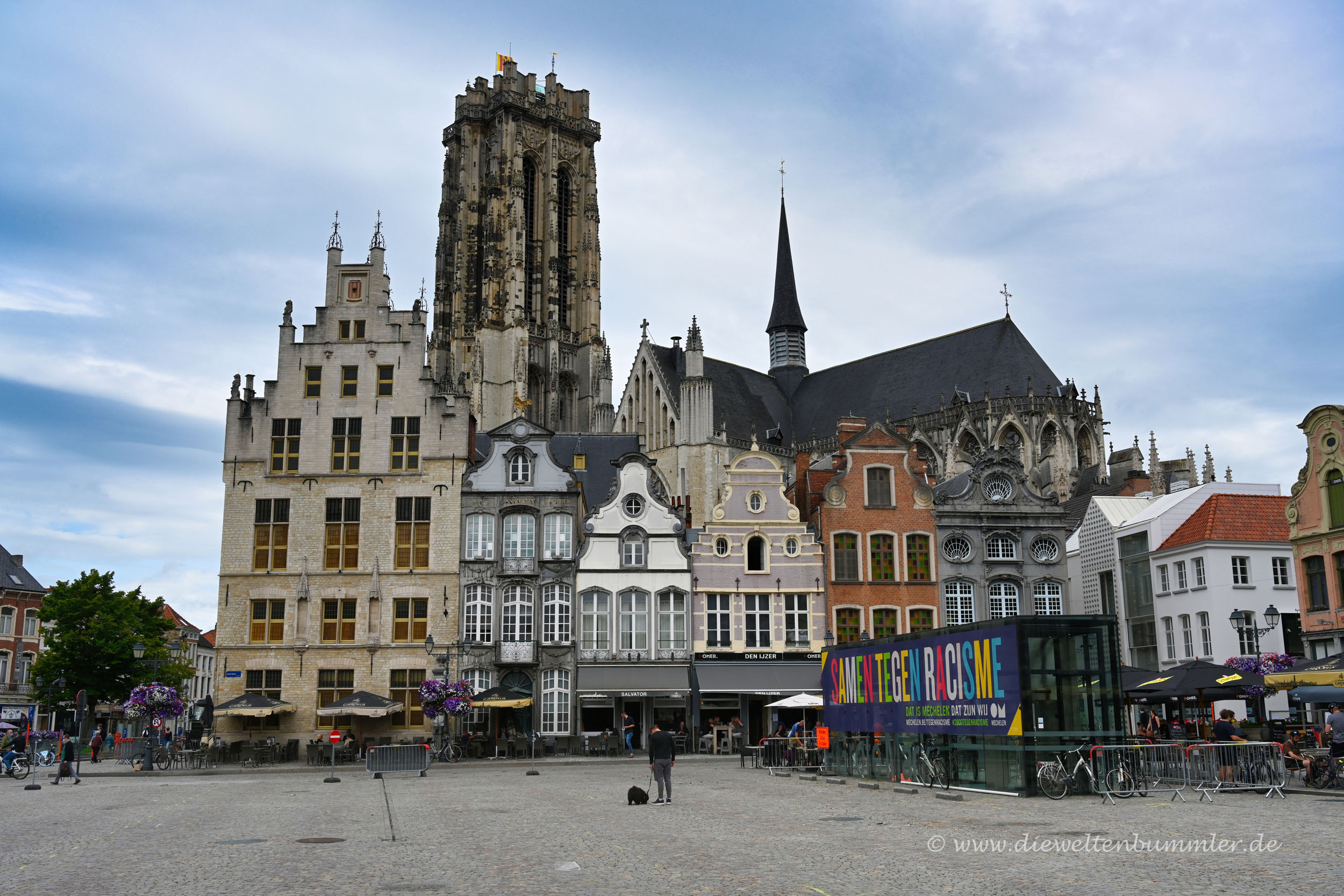 Skyline von Mechelen