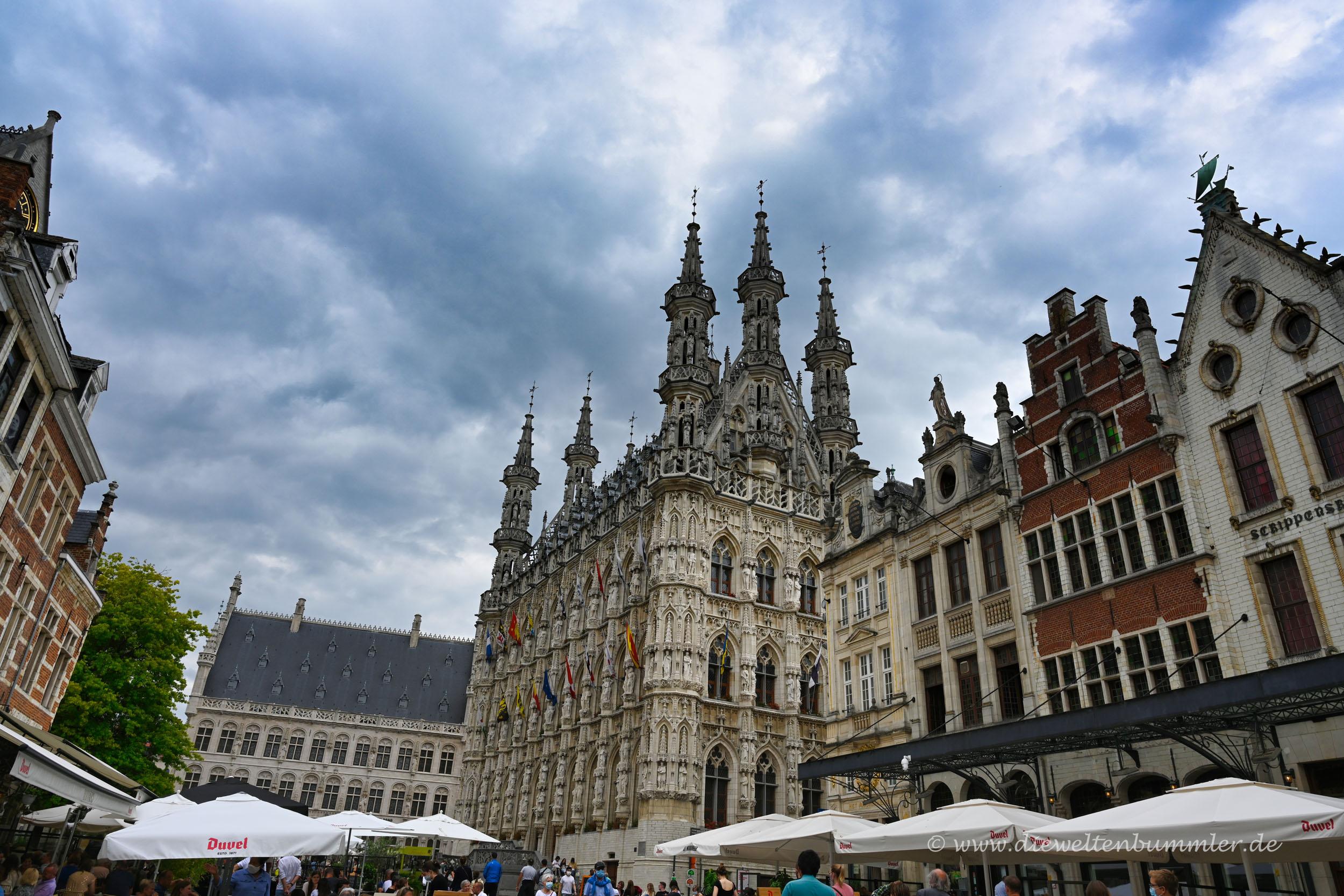 Stadtzentrum von Leuven