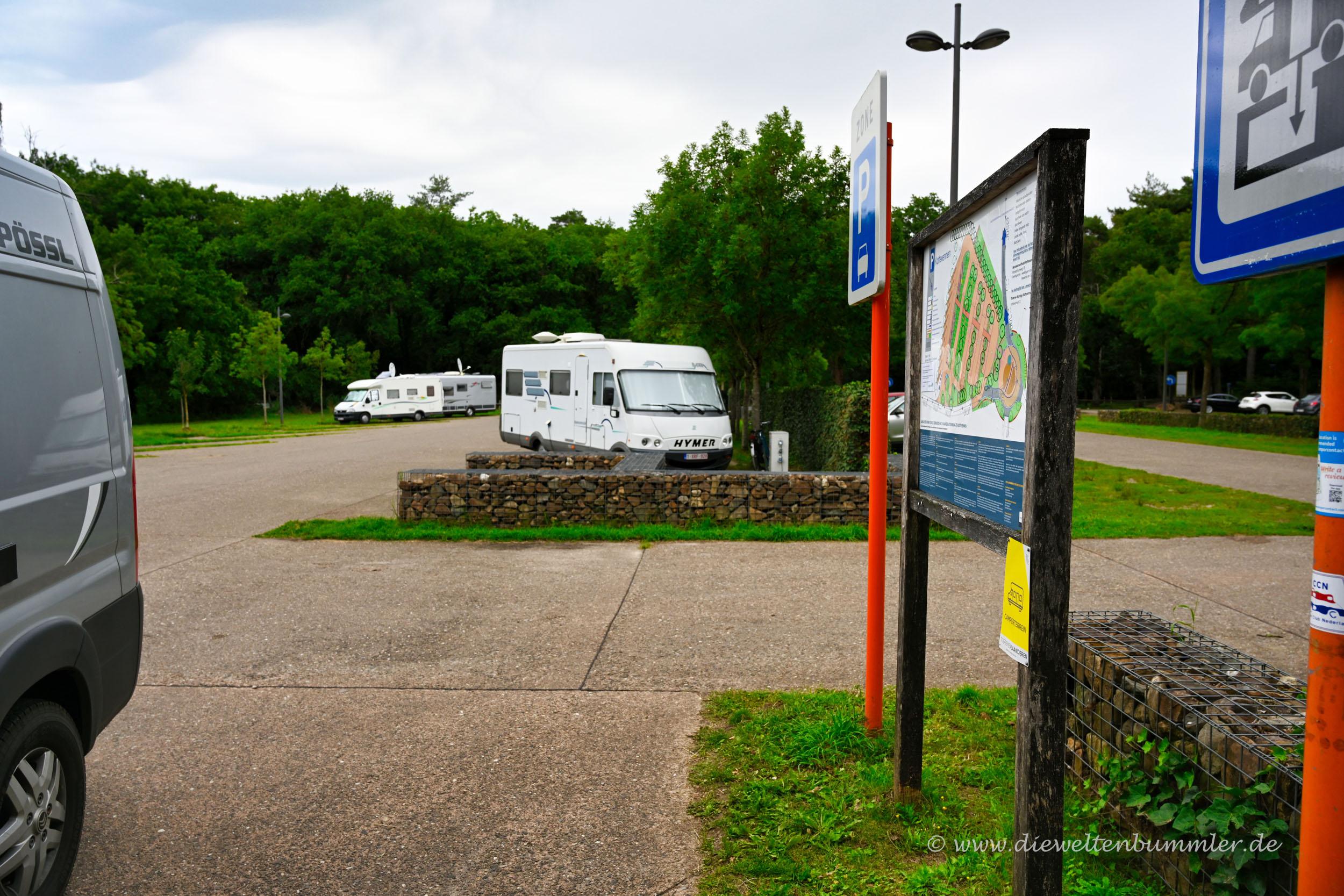 Stellplatz am Nationalpark
