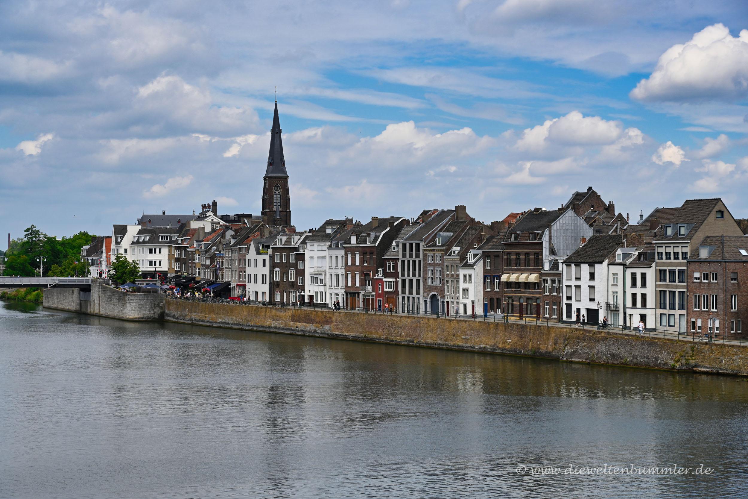 Uferpromenade bei Maastricht