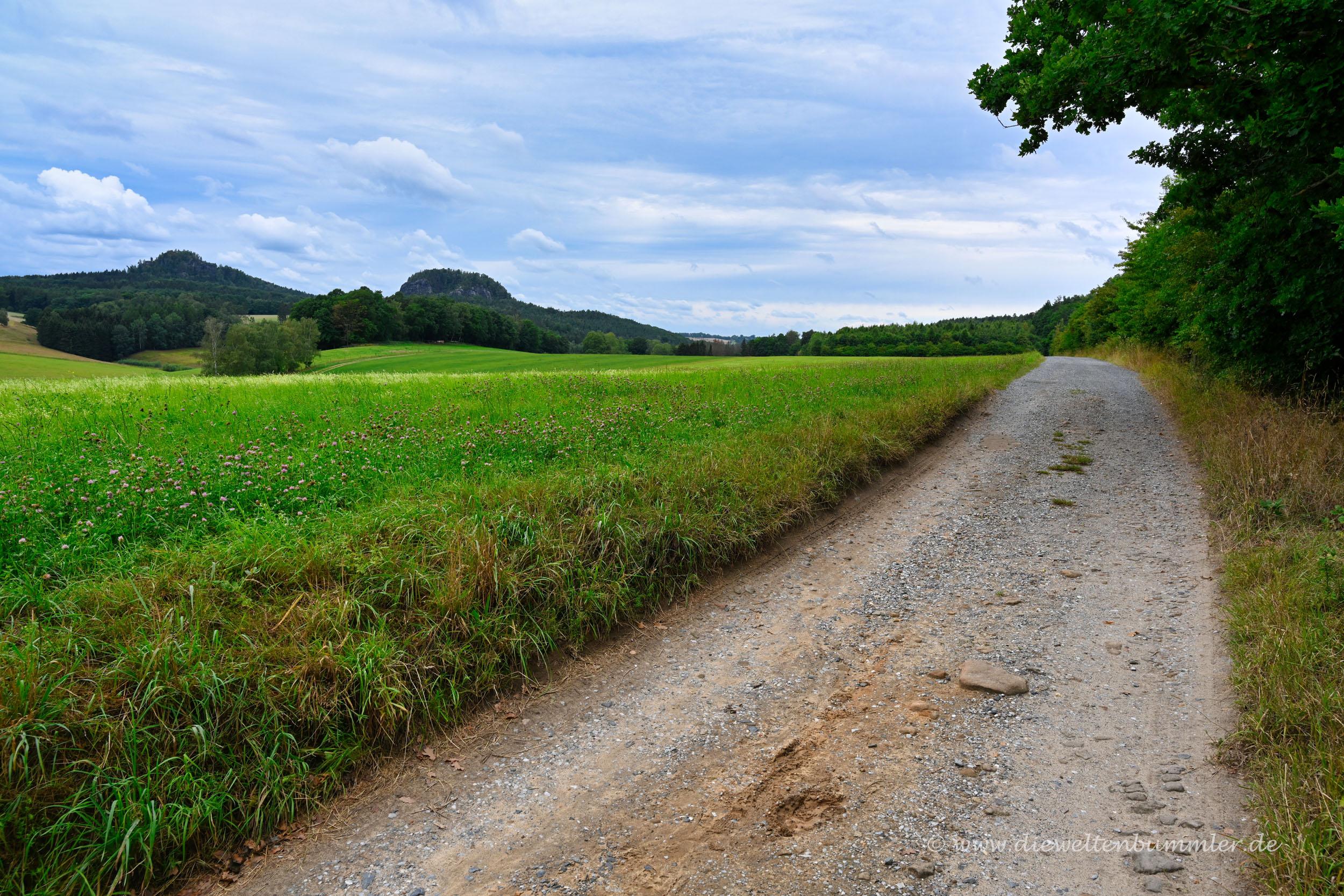 Wanderweg zum Rauenstein