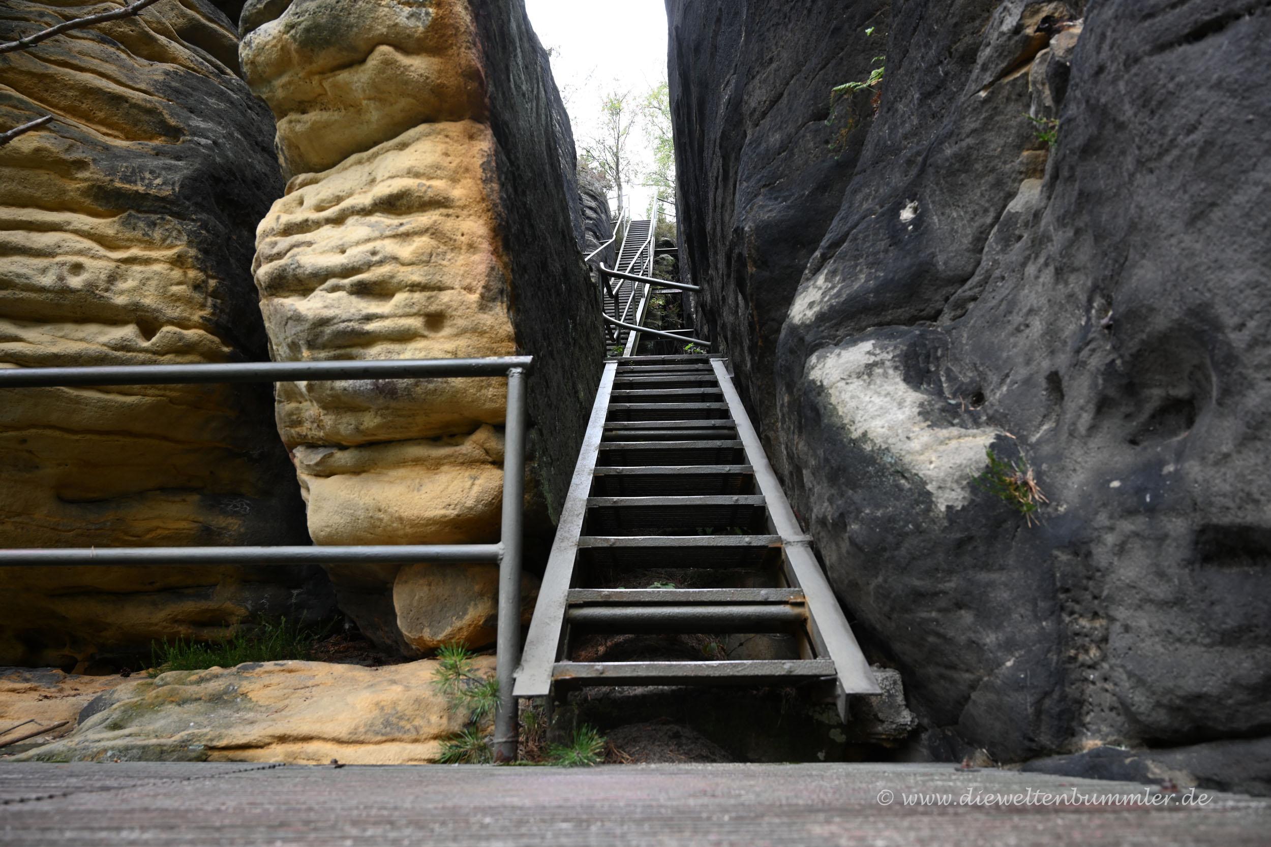 Wieder einmal Treppen