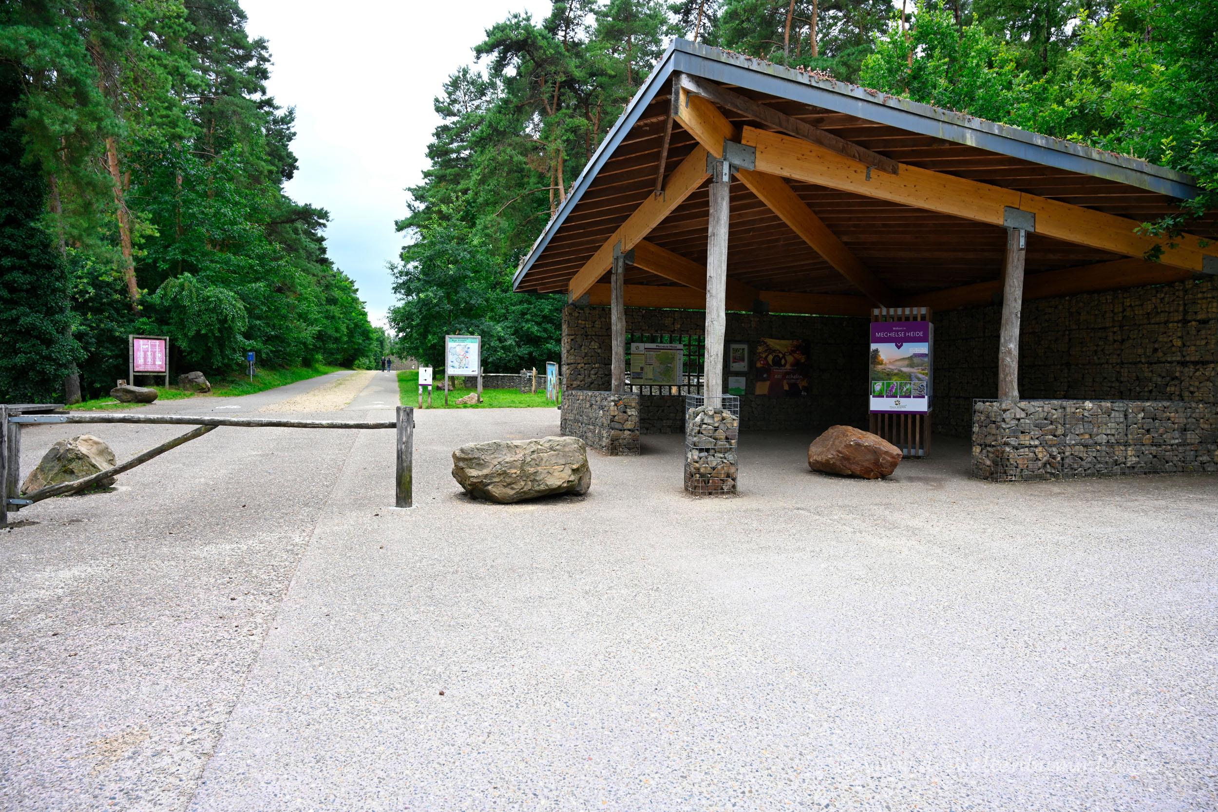 Zugang zur Mechelser Heide