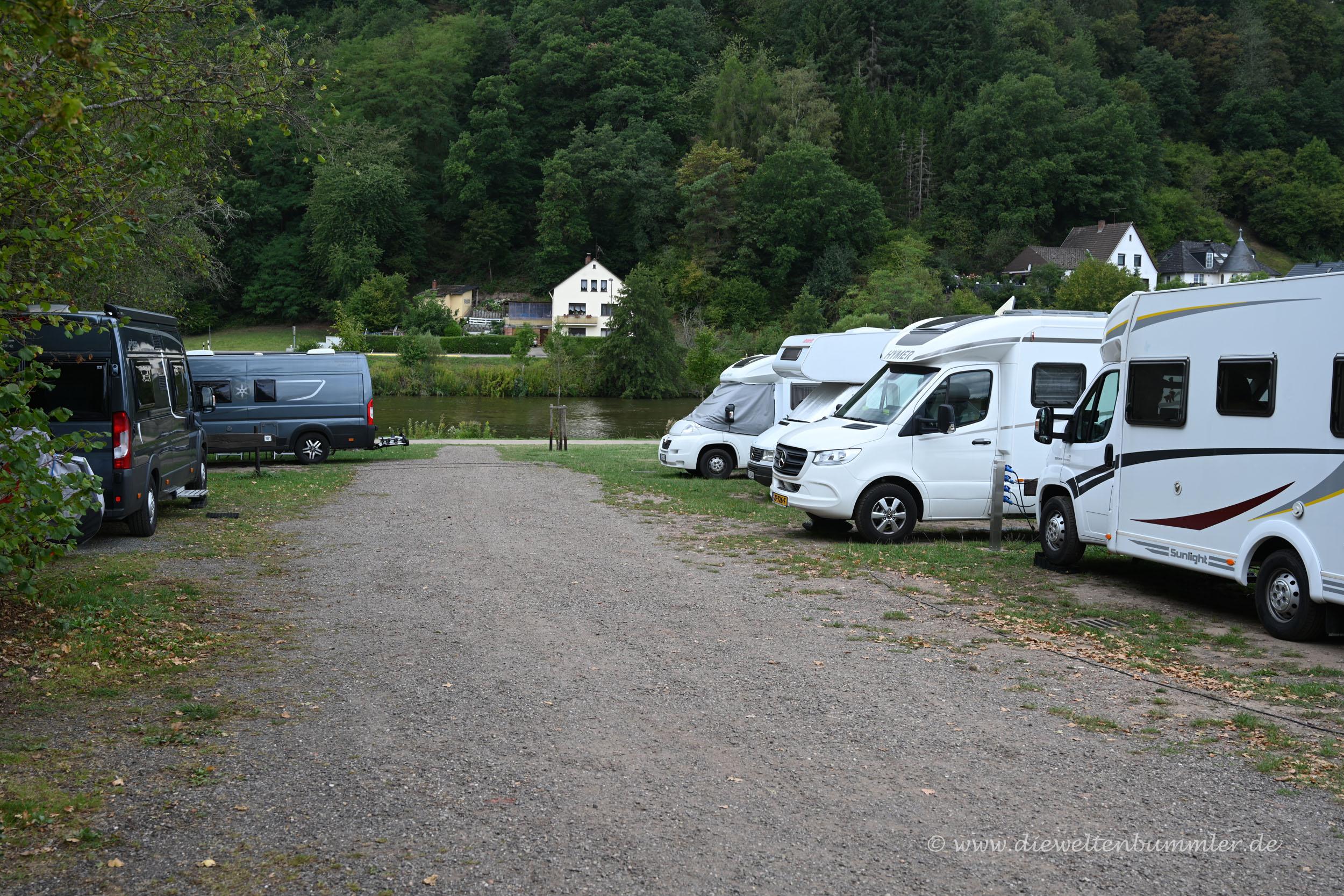 Wohnmobilstellplatz in Saarburg