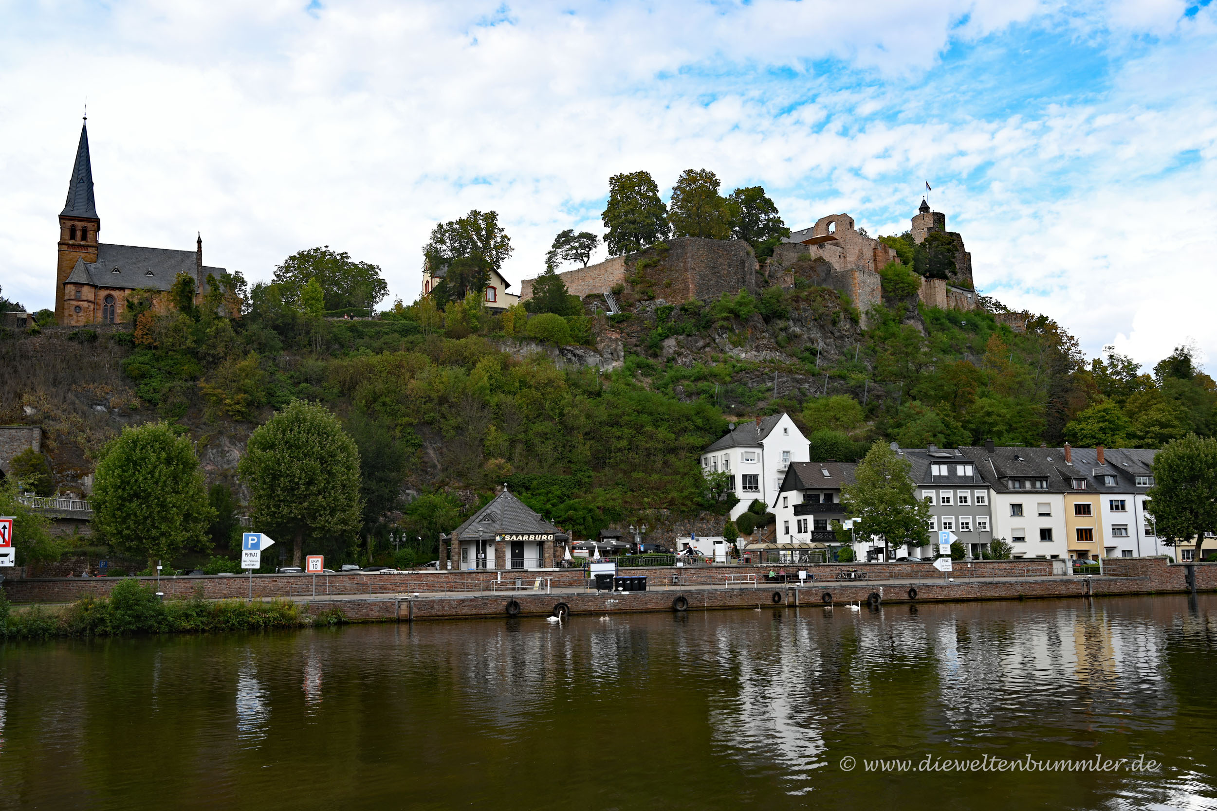 Die Saar in Saarburg