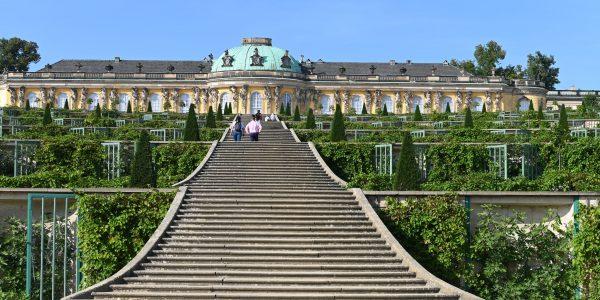 Treppen am Schloss