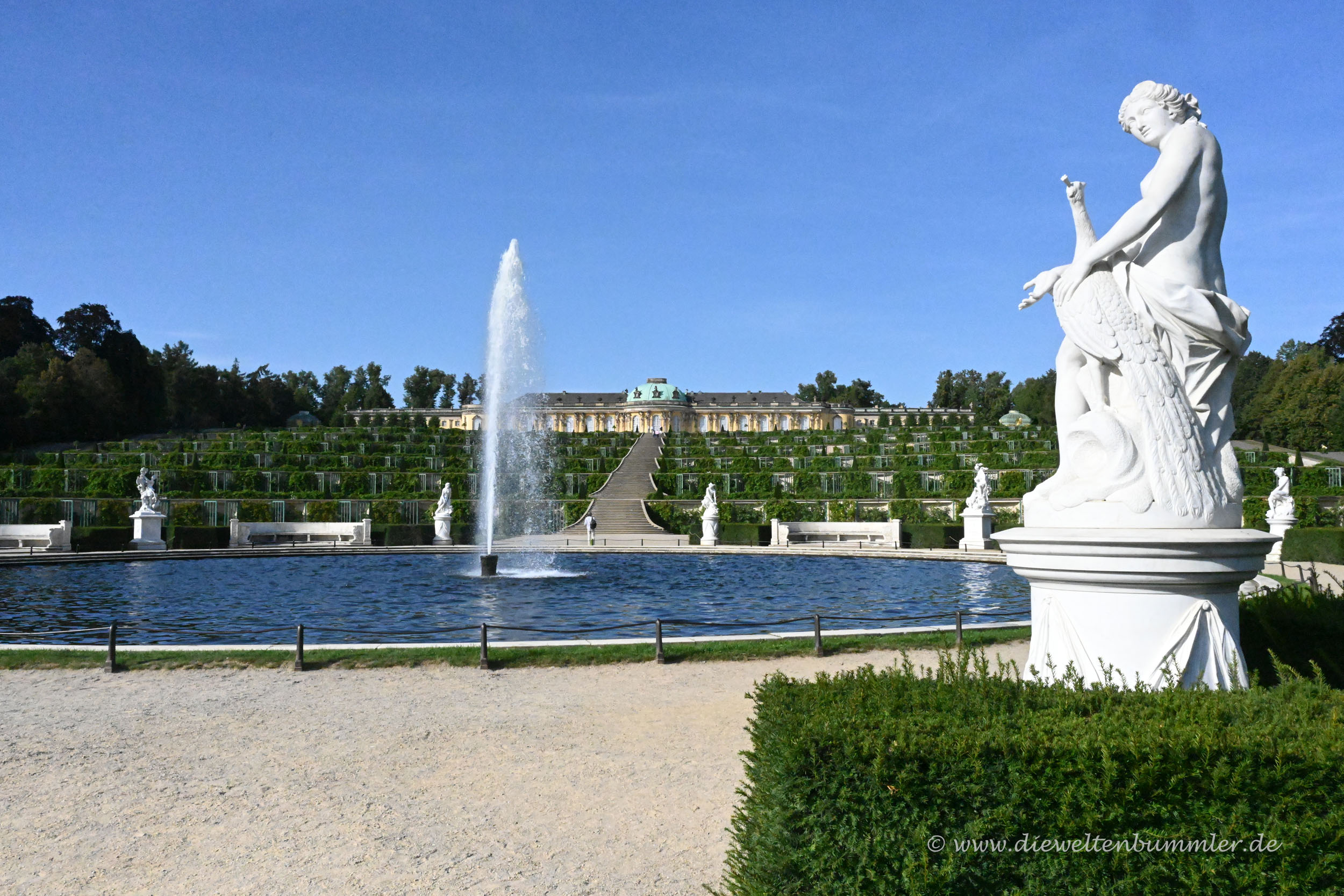 Schlosspark in Potsdam