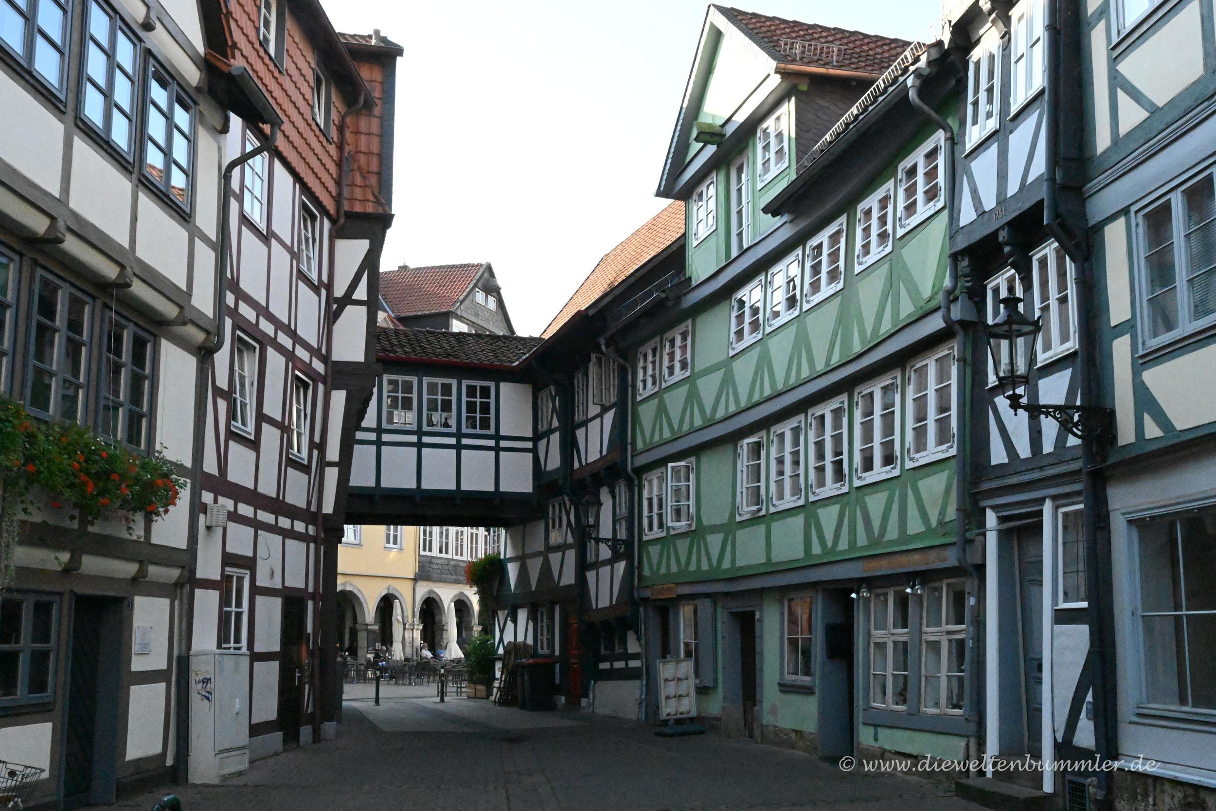 Fachwerk in der Altstadt Wolfenbüttel