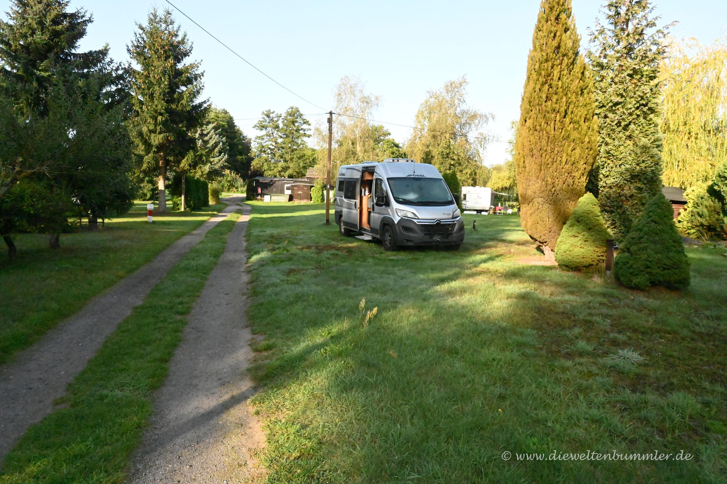Campingplatz bei Celle