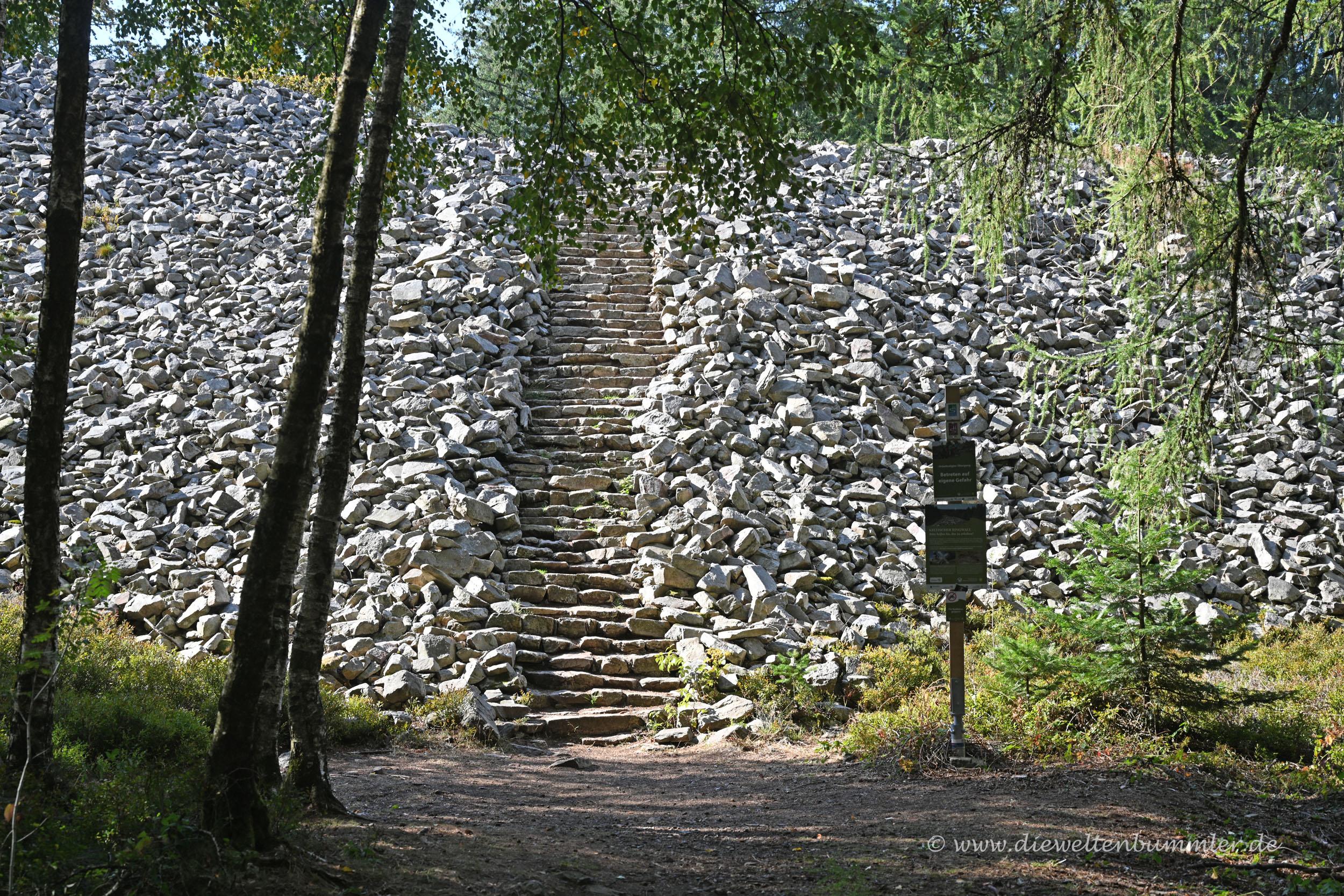 Treppen am Ringwall