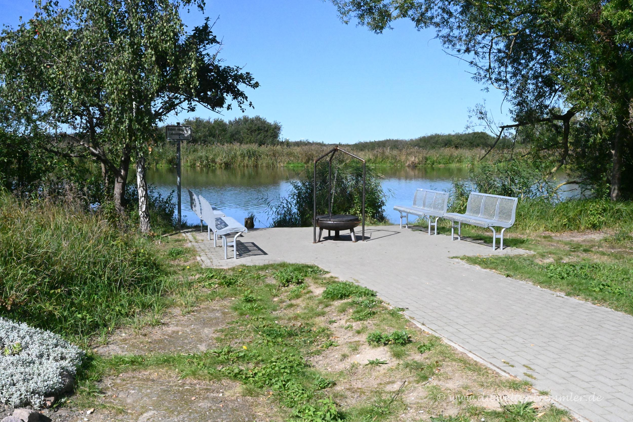 Picknickplatz an der Peene