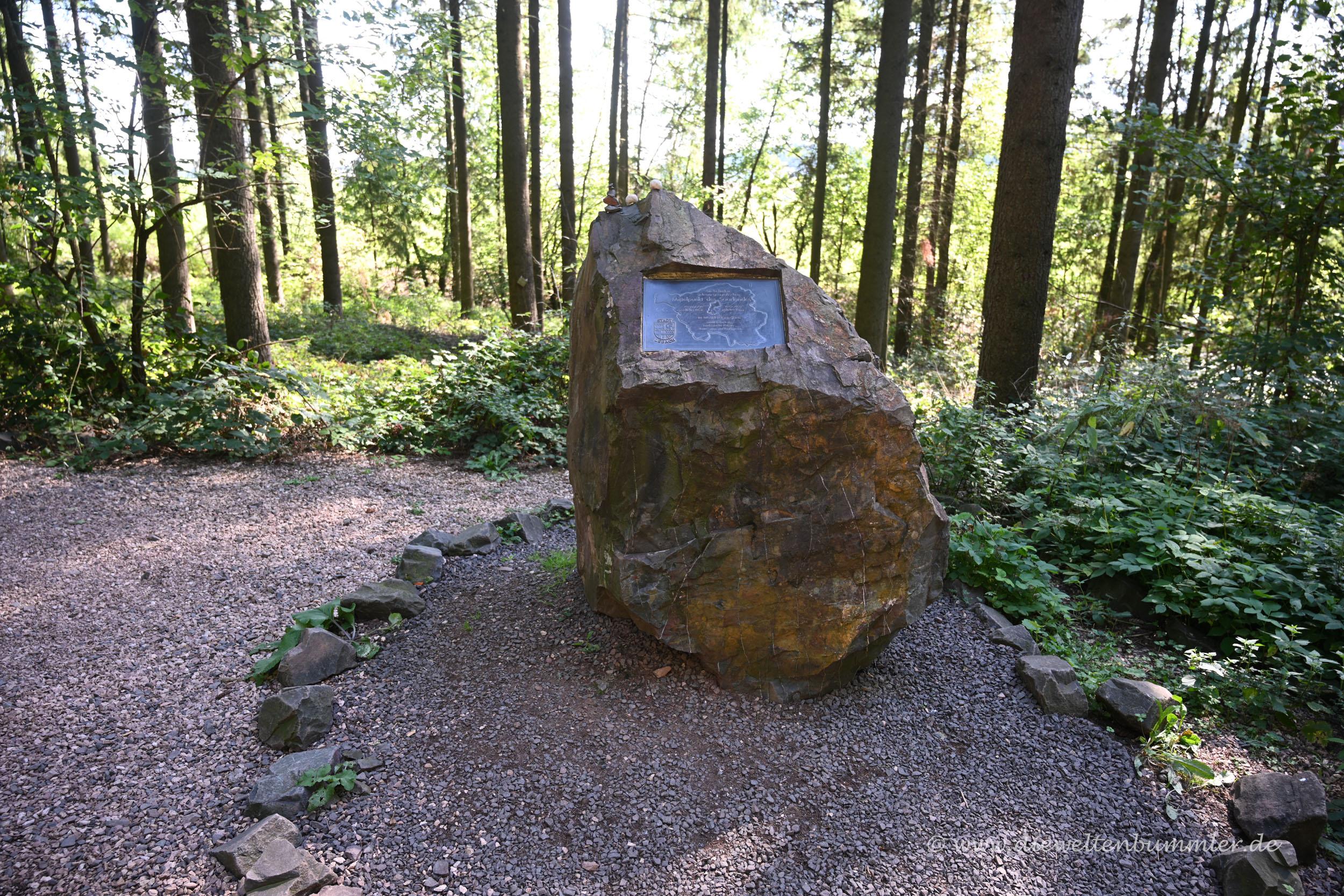 Mittelpunkt vom Saarland