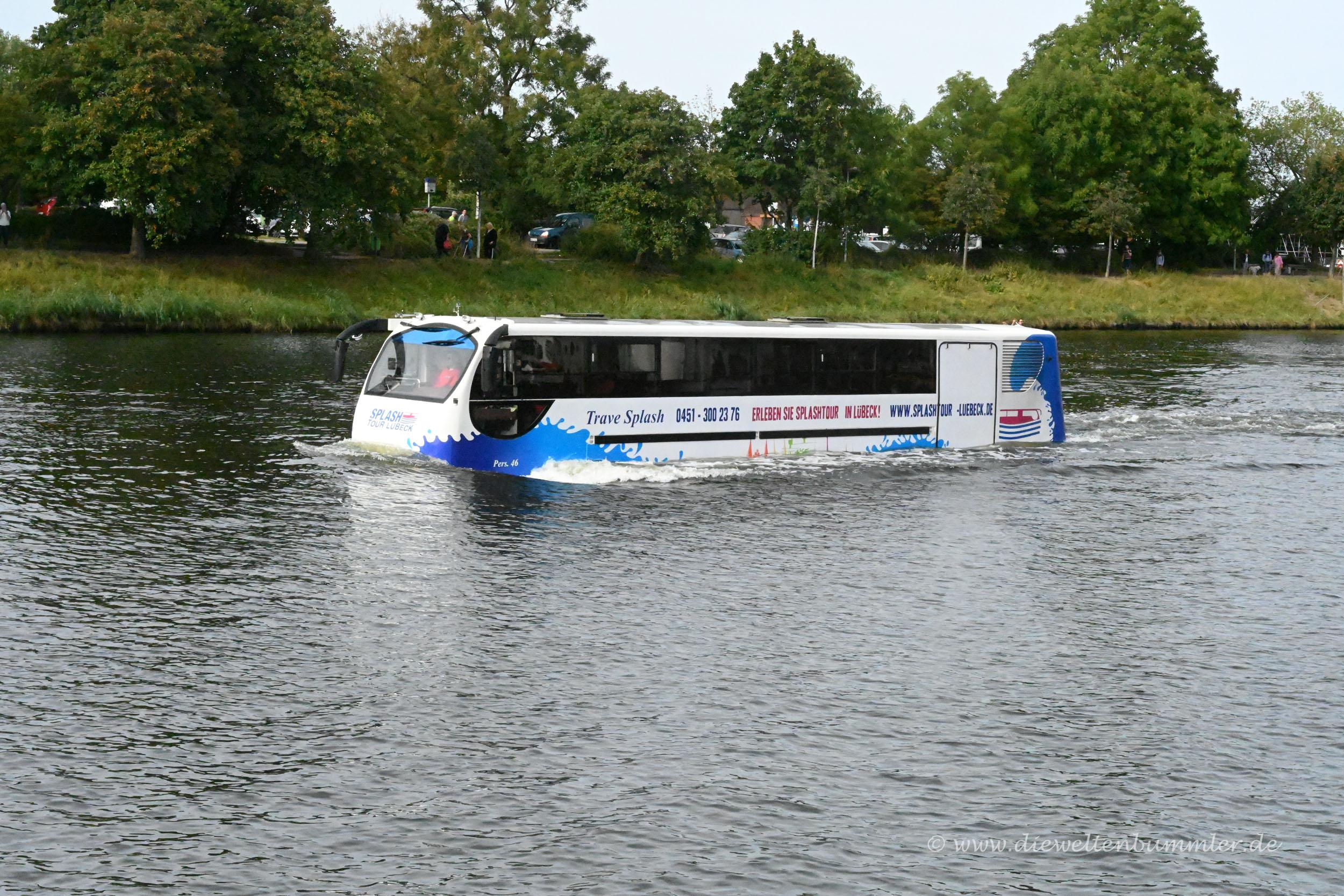 Busfahrten auf dem Wasser