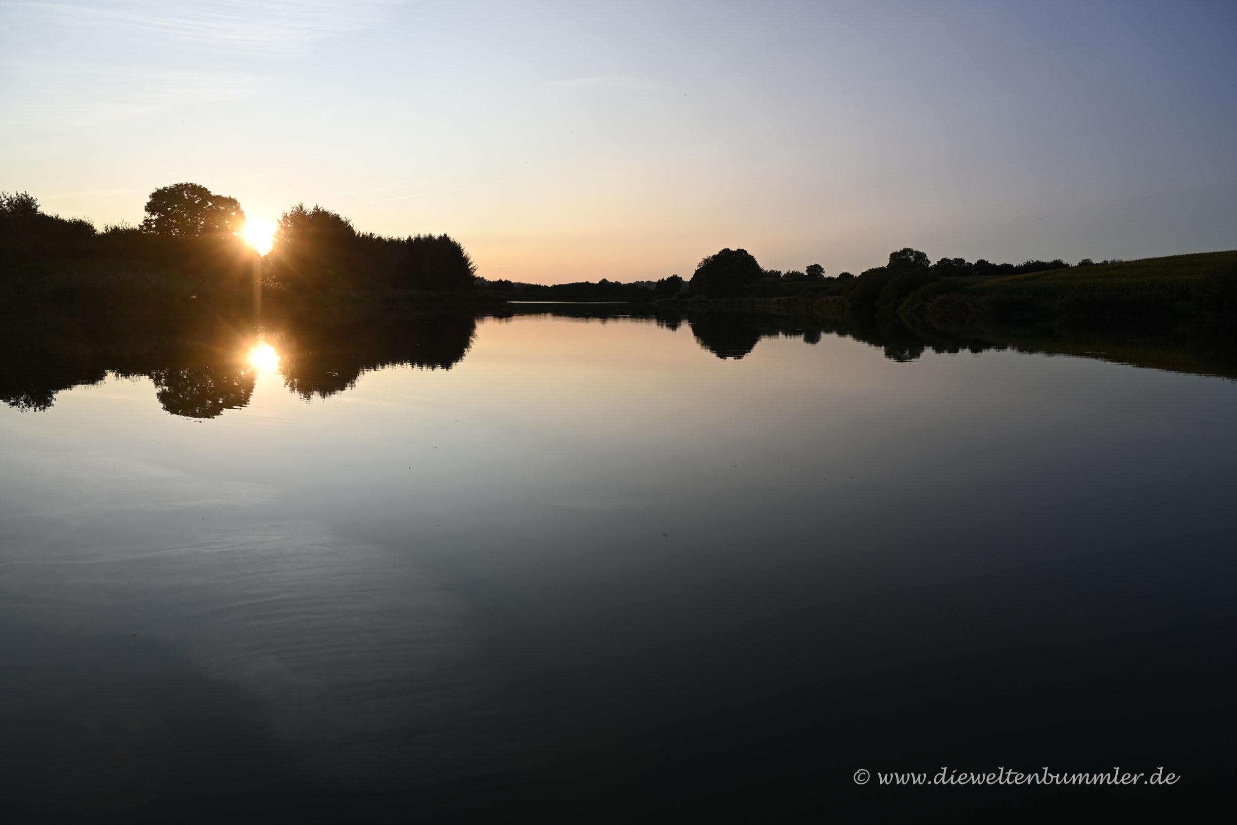 Kleiner See am Bauernhof