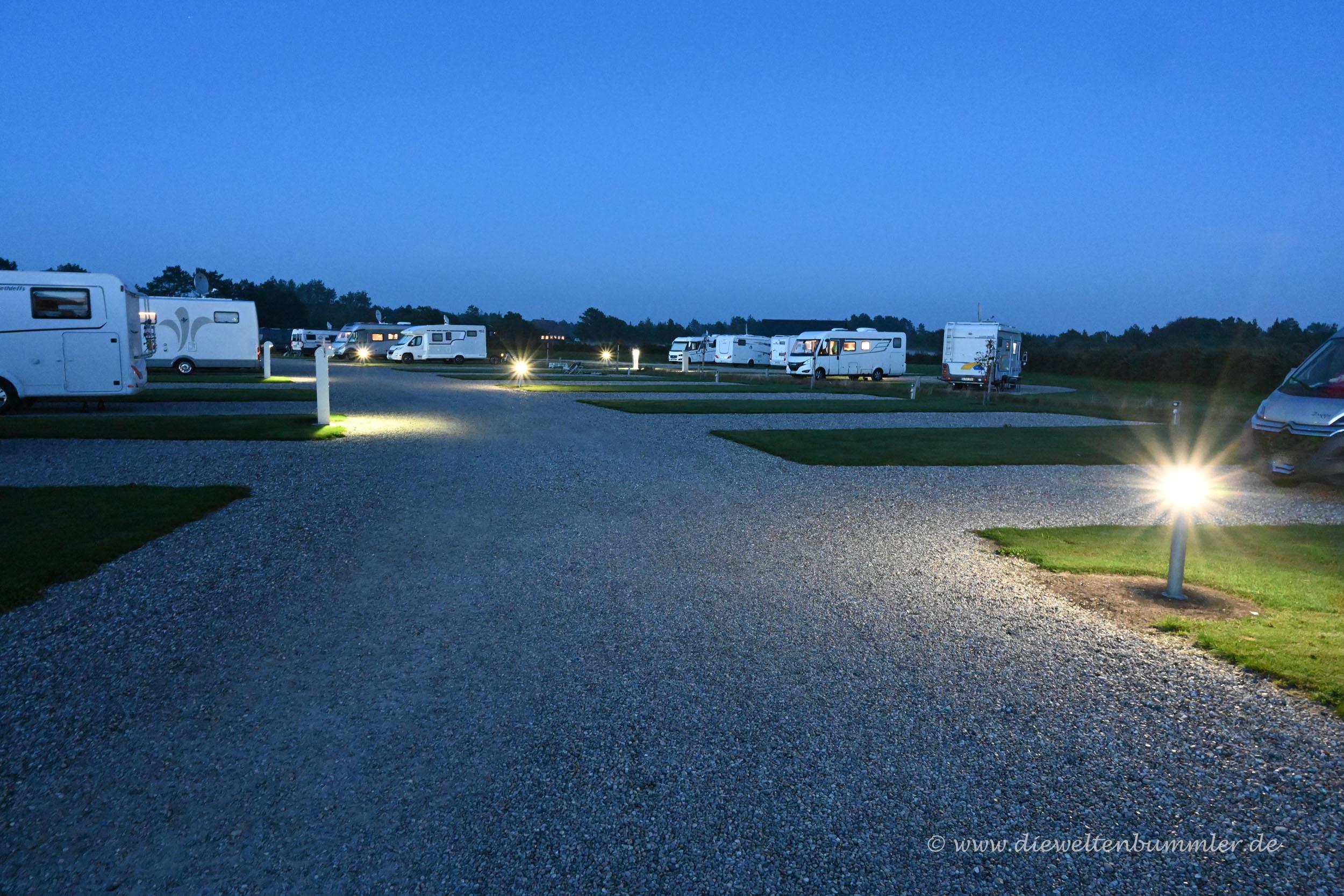 Wohnmobilstellplatz Rømø