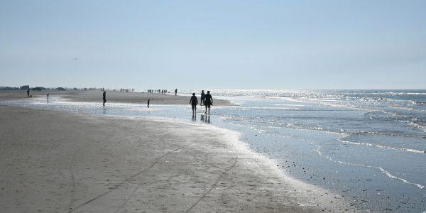 Weiter Strand in Dänemark