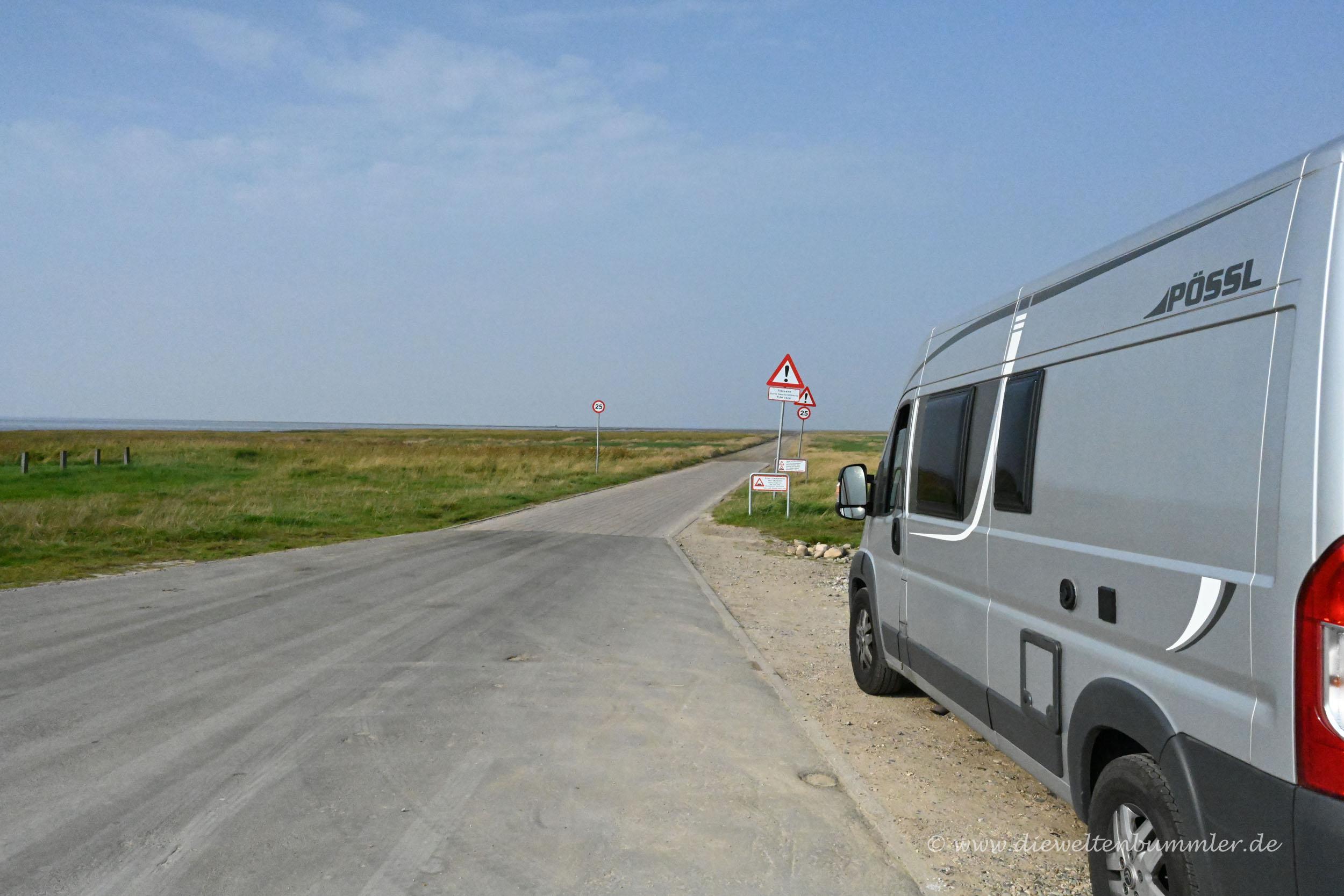 Abfahrt nach Mandø