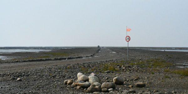 Straße nach Mandø