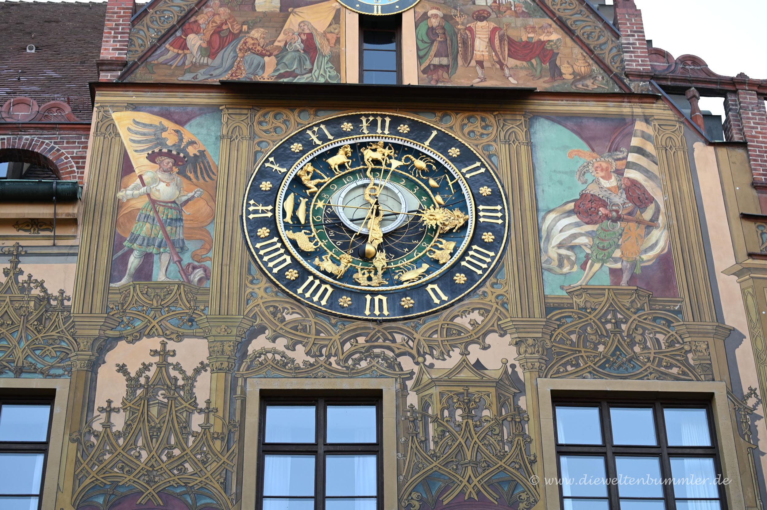 Uhr in Ulm
