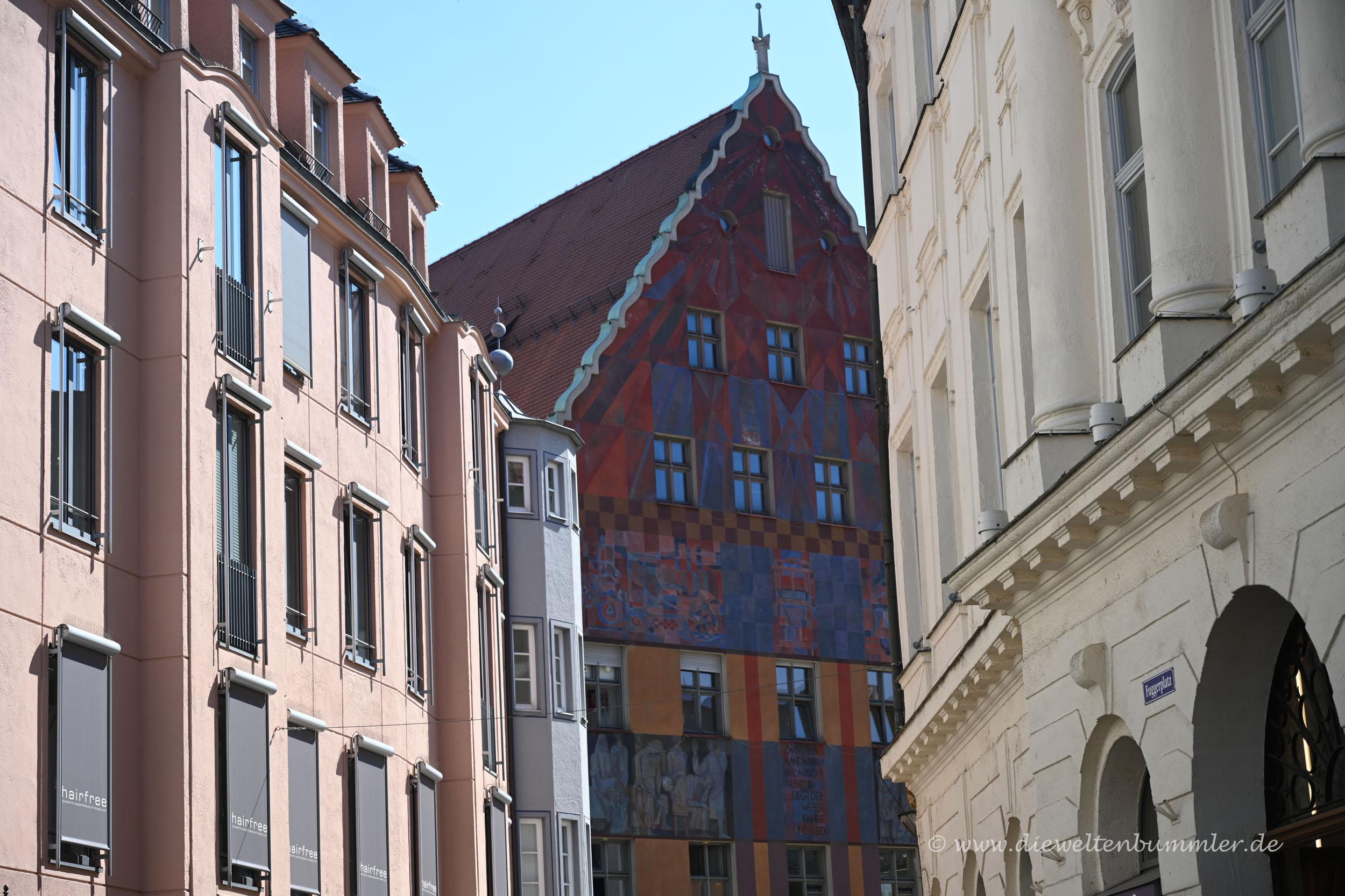 Weberhaus in Augsburg