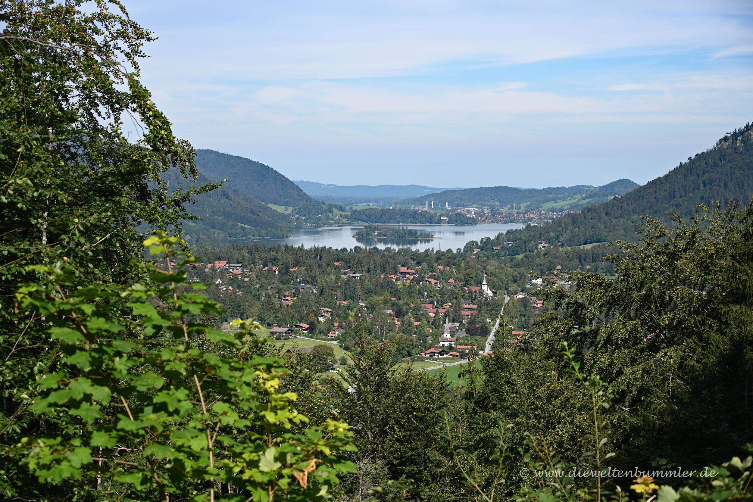Ausblick zum Schliersee